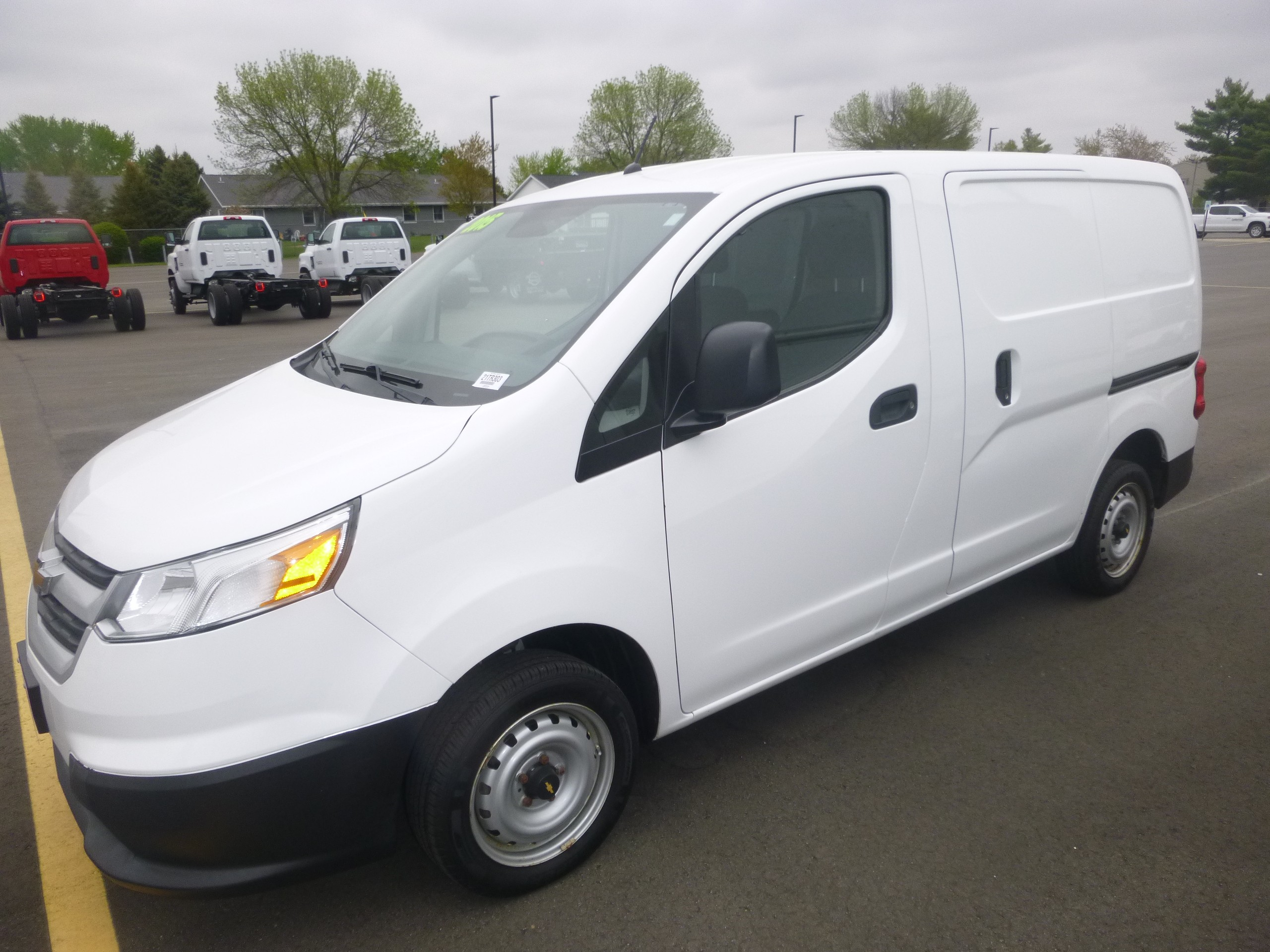 Used, 2015, Chevrolet, City Express, Vans