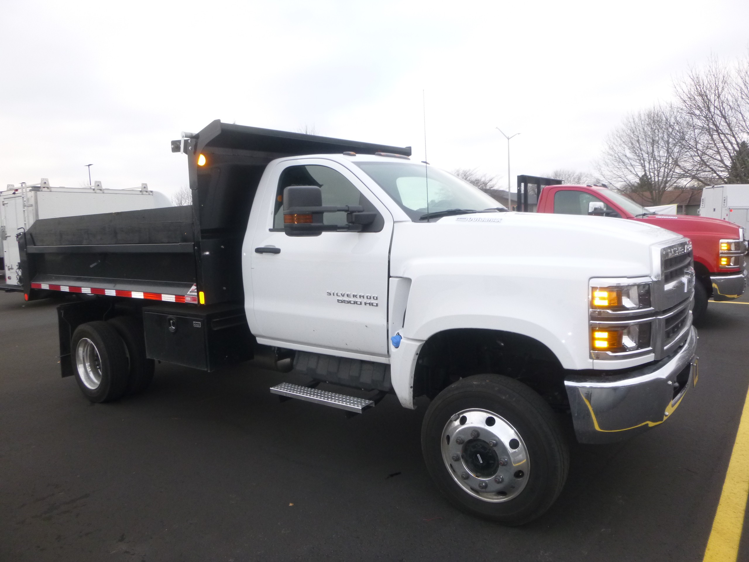 Used, 2019, Chevrolet, Chevy 5500 4x4, Dump Trucks