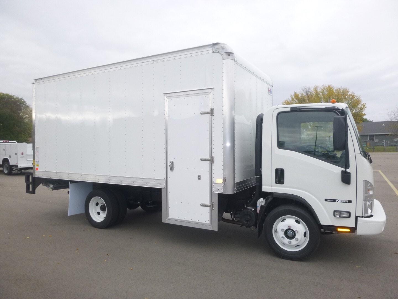New, 2022, Isuzu, Isuzu NRR-Gas, 16' delivery truck, Van Trucks