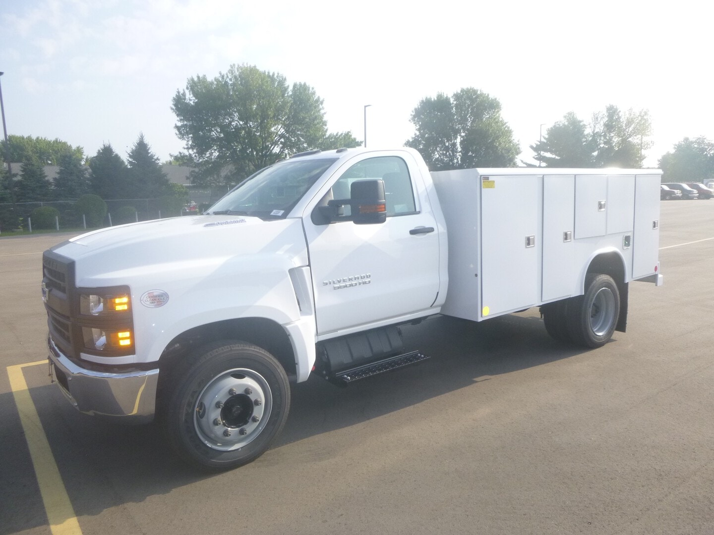 New, 2021, Chevrolet, Chevy 5500 2WD Service Truck, Utility Truck