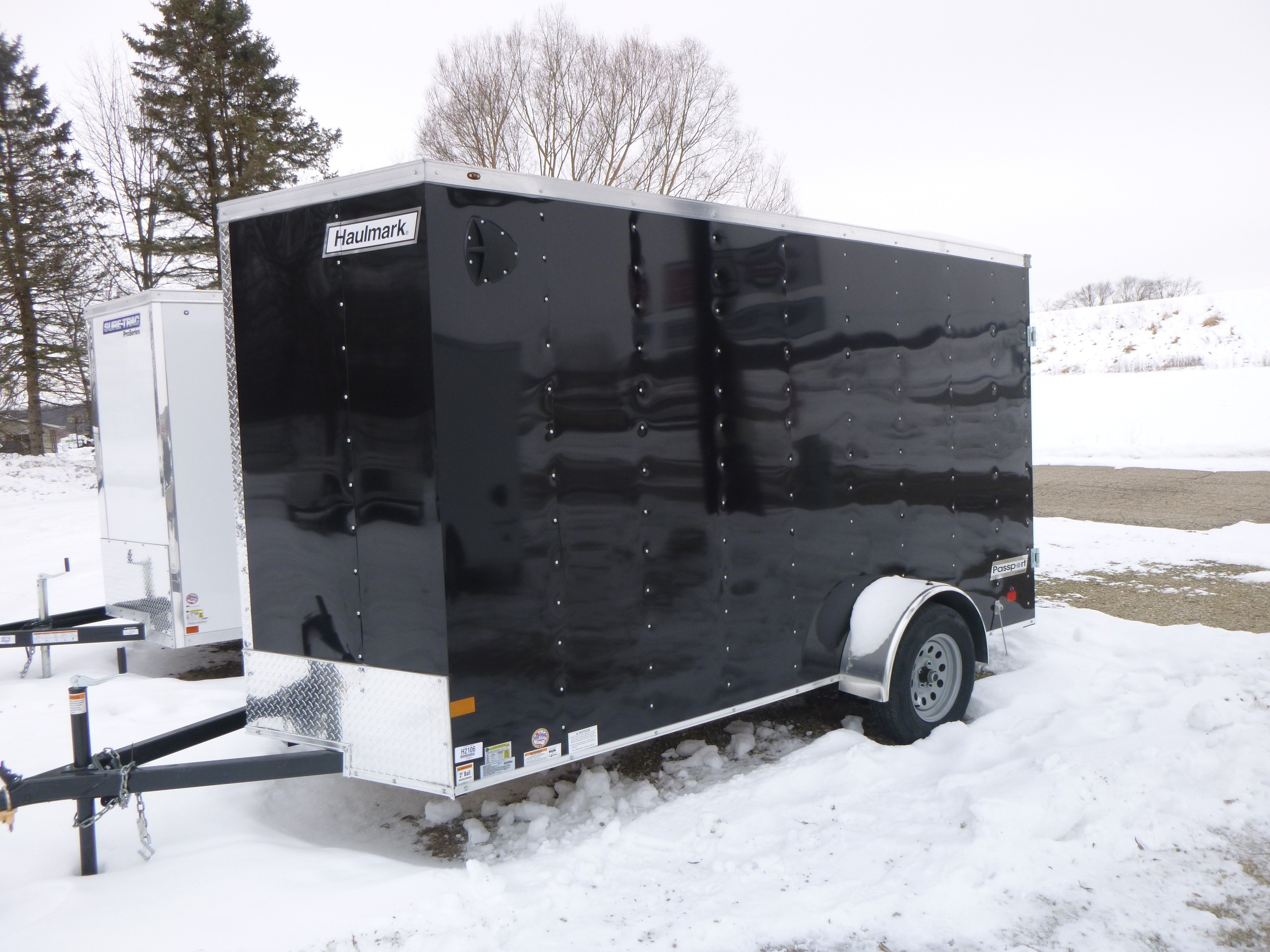 New, 2021, Haulmark, 6x12 Passport, Trailers