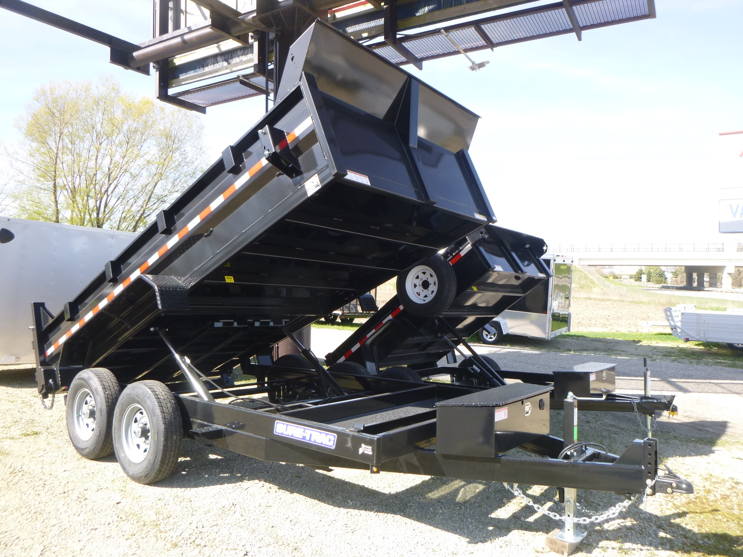 New, 2020, Sure-Trac, 14' Dump Trailer, Trailers