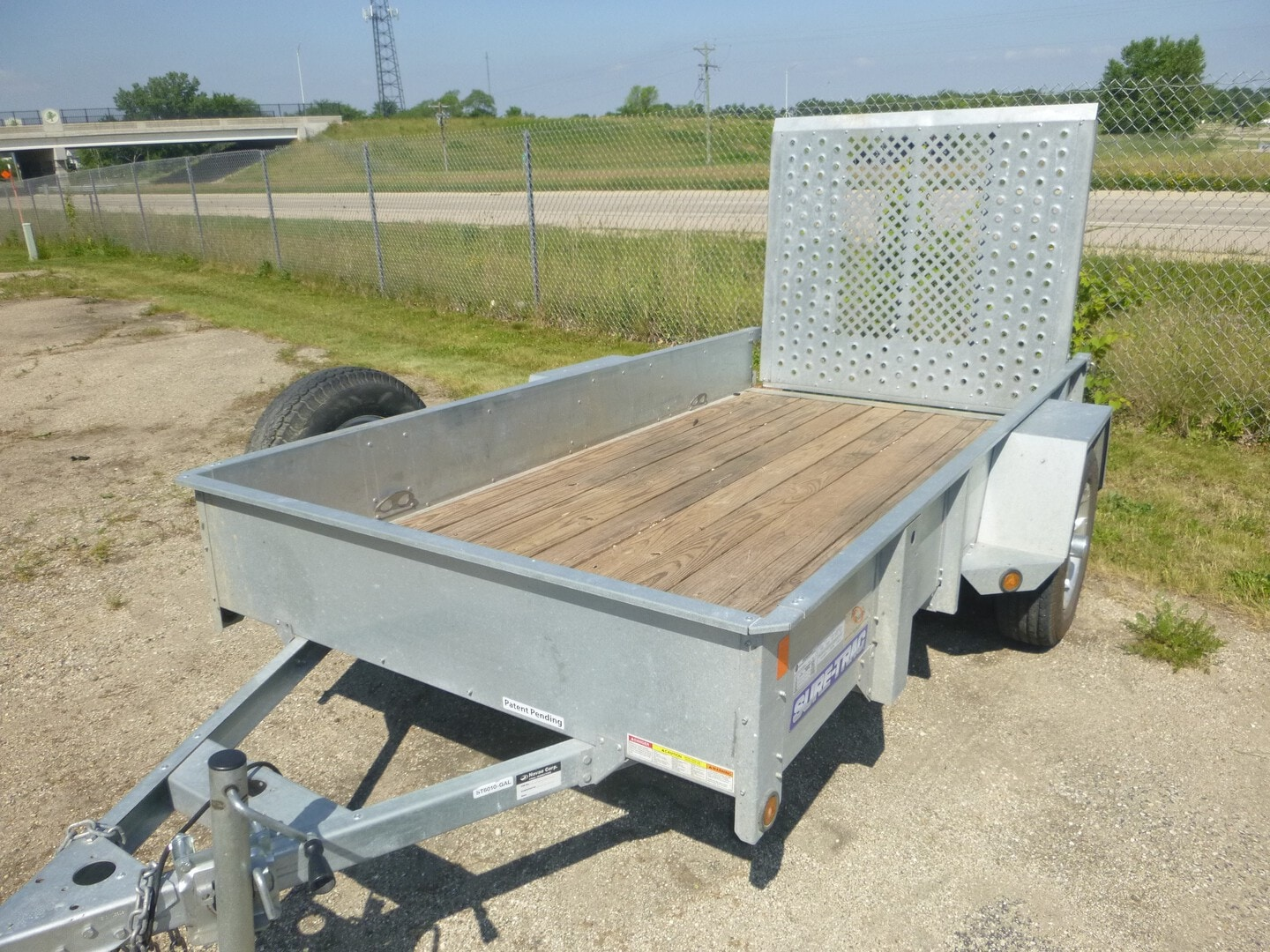 Used, 2014, Sure-Trac, ST6010, Utility Trailers