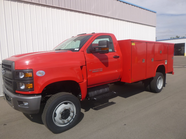 New, 2021, Chevrolet, Chevrolet 5500HD 4X4, Cab / Chassis Trucks