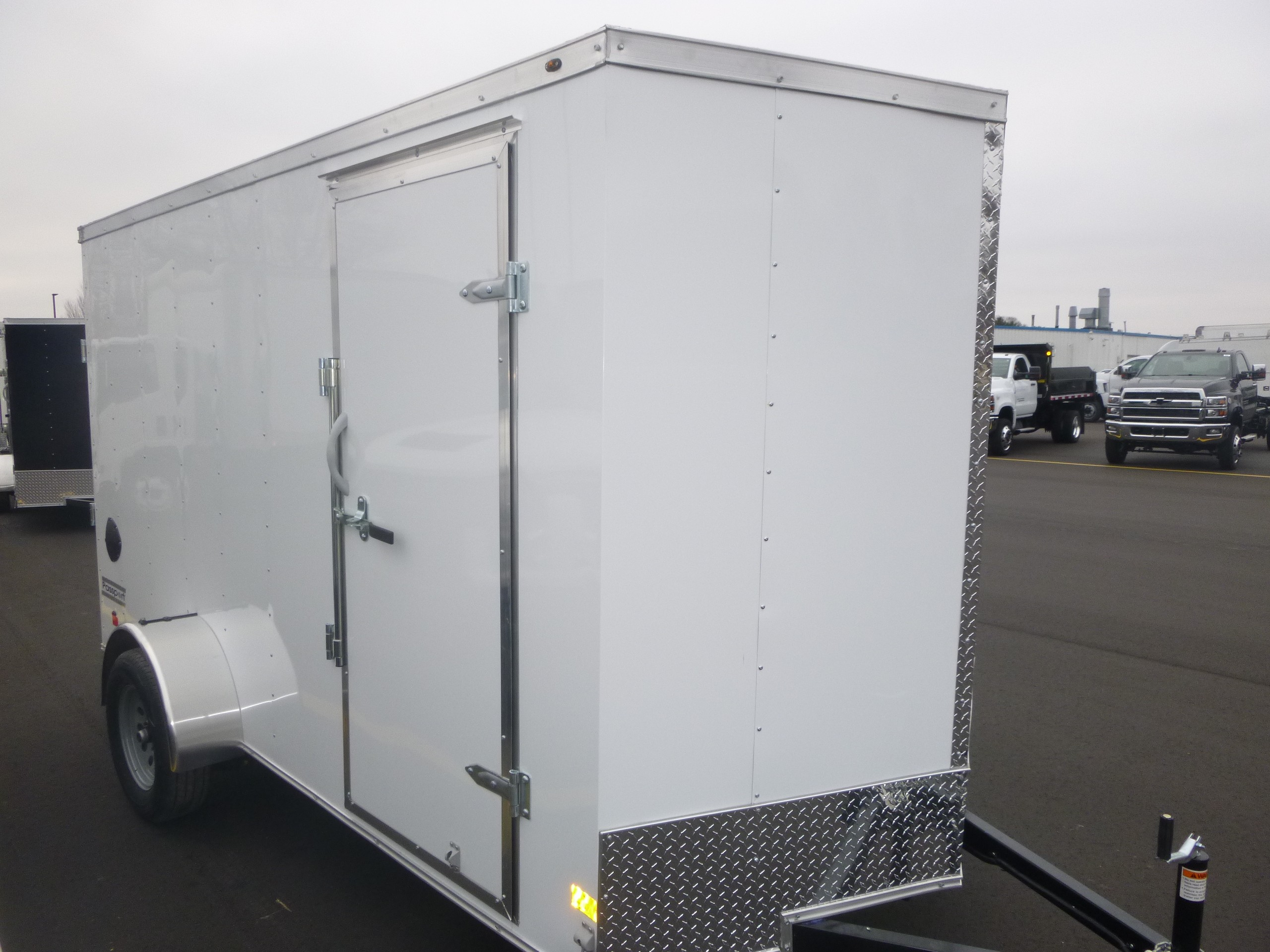 New, 2021, Haulmark, 12' Passport Deluxe, Cargo Trailers