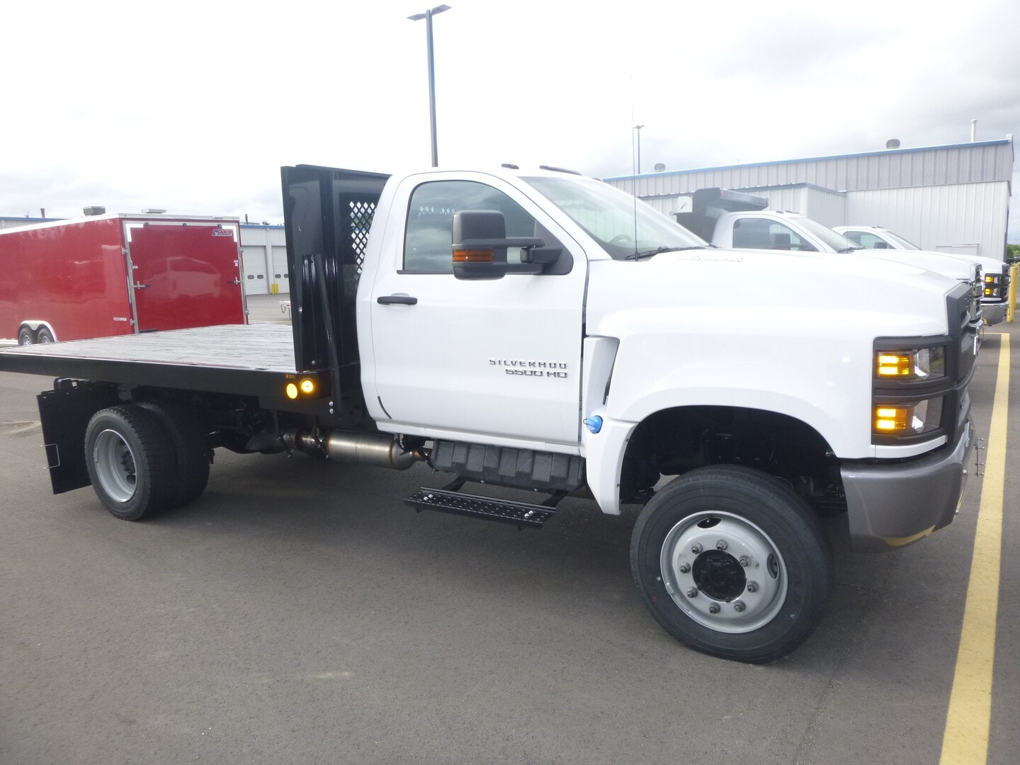 New, 2021, Chevrolet, 5500 4 X 4 Chassis, Cab / Chassis Trucks