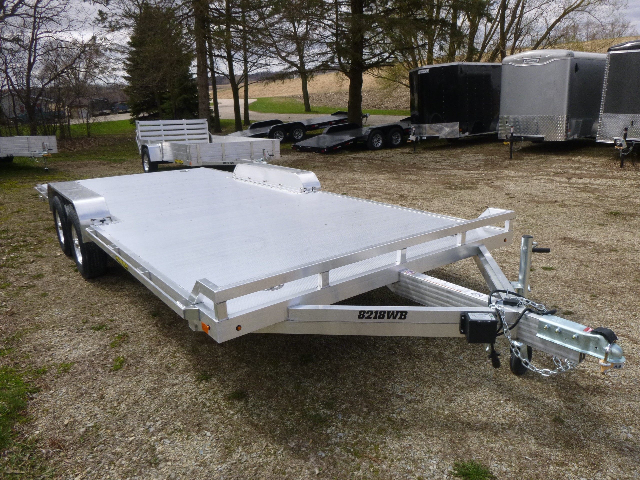 New, 2021, Aluma, 8218WB-TA, Utility/Light-Duty Trailers