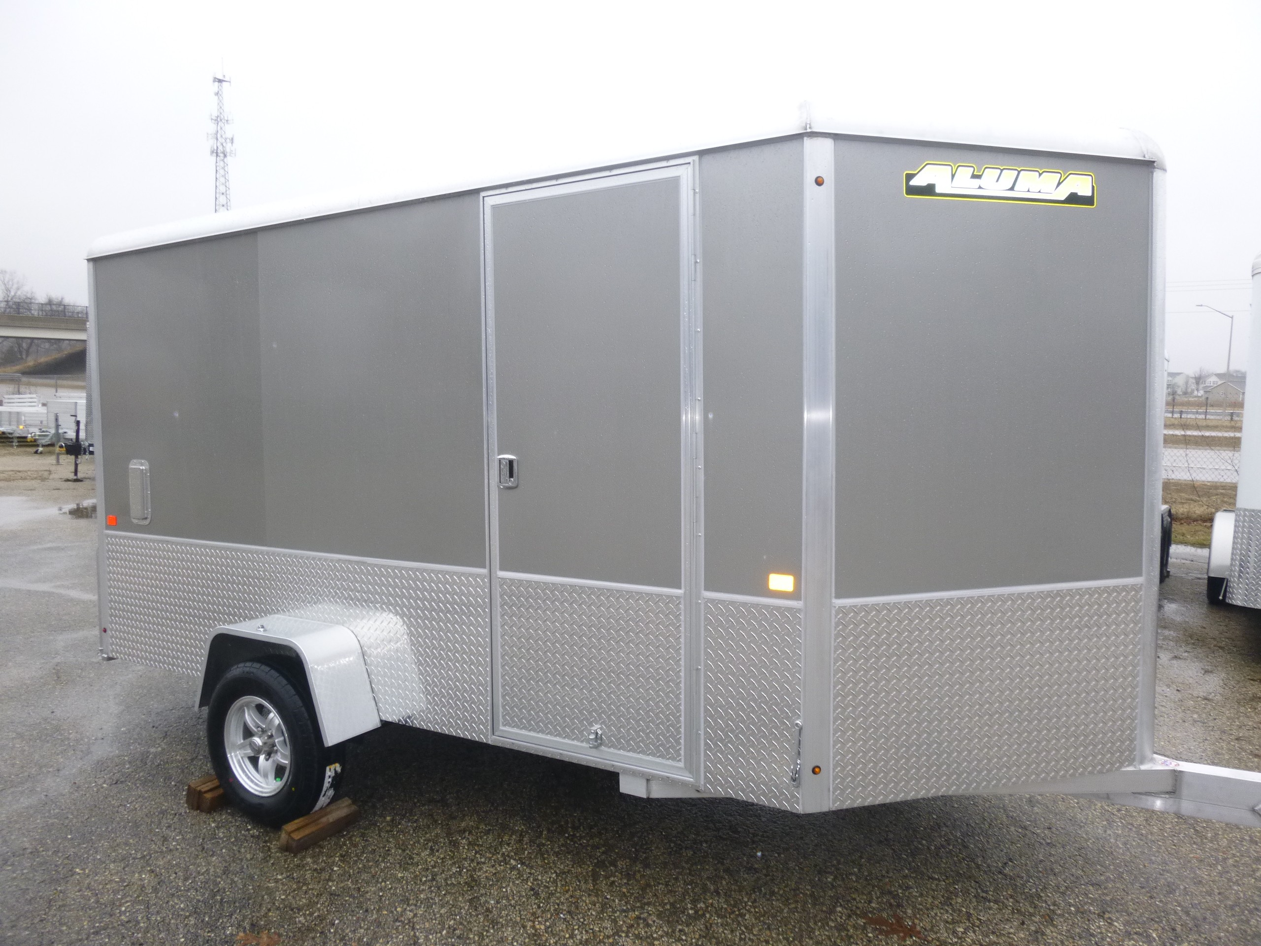 New, 2021, Aluma, AE6x12, Trailers