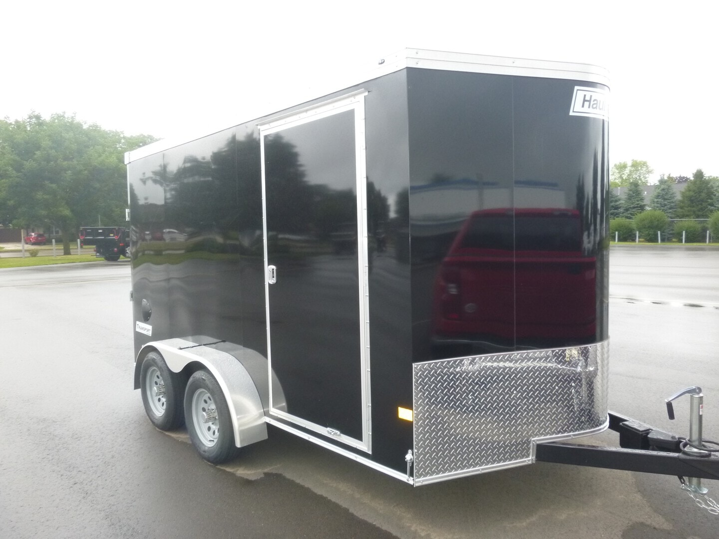 New, 2022, Haulmark, Transport V Motorcycle Trailer, Cycle Trailers