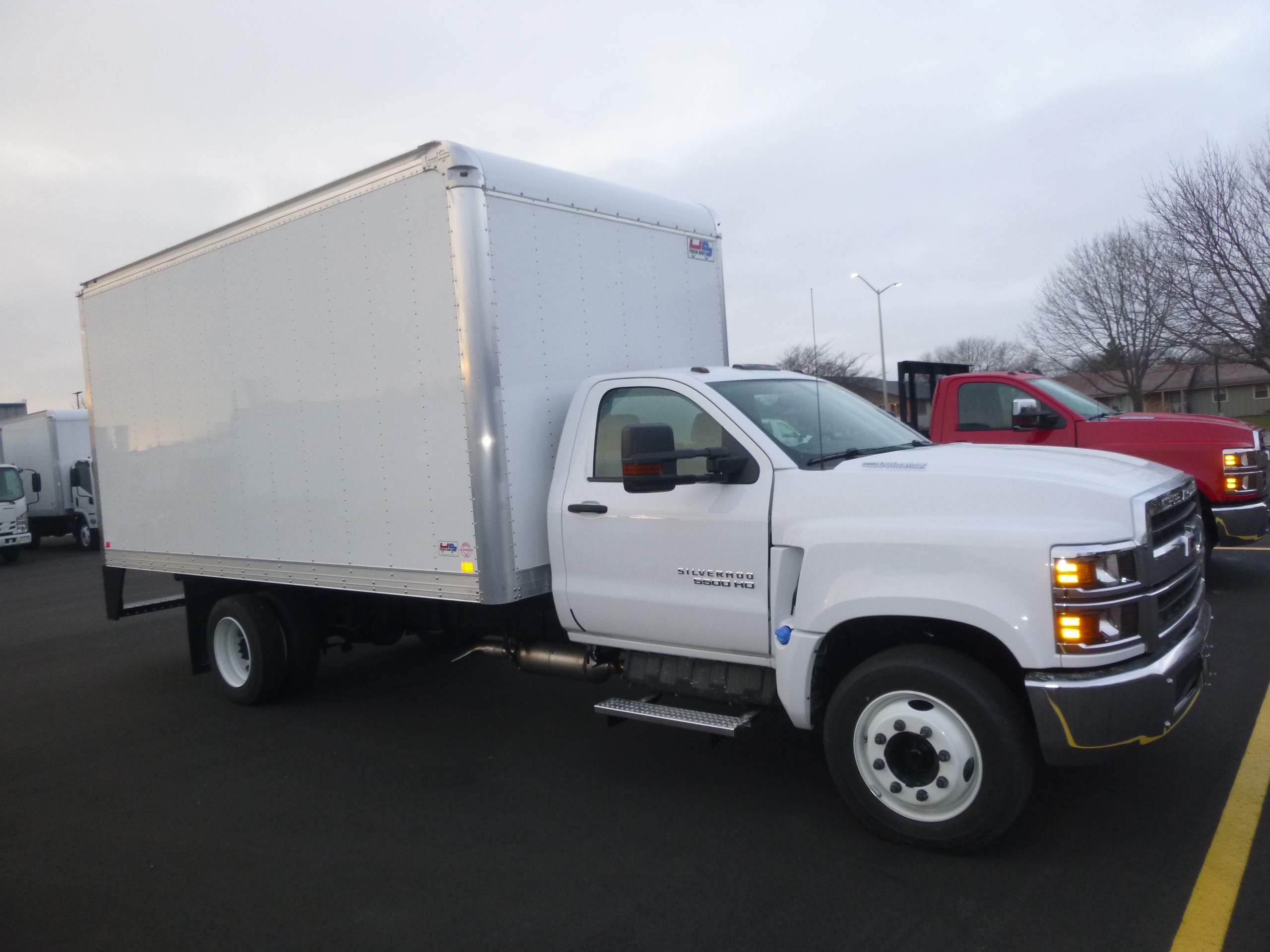 New, 2020, Chevrolet, 5500 2WD Delivery Truck, Van Trucks