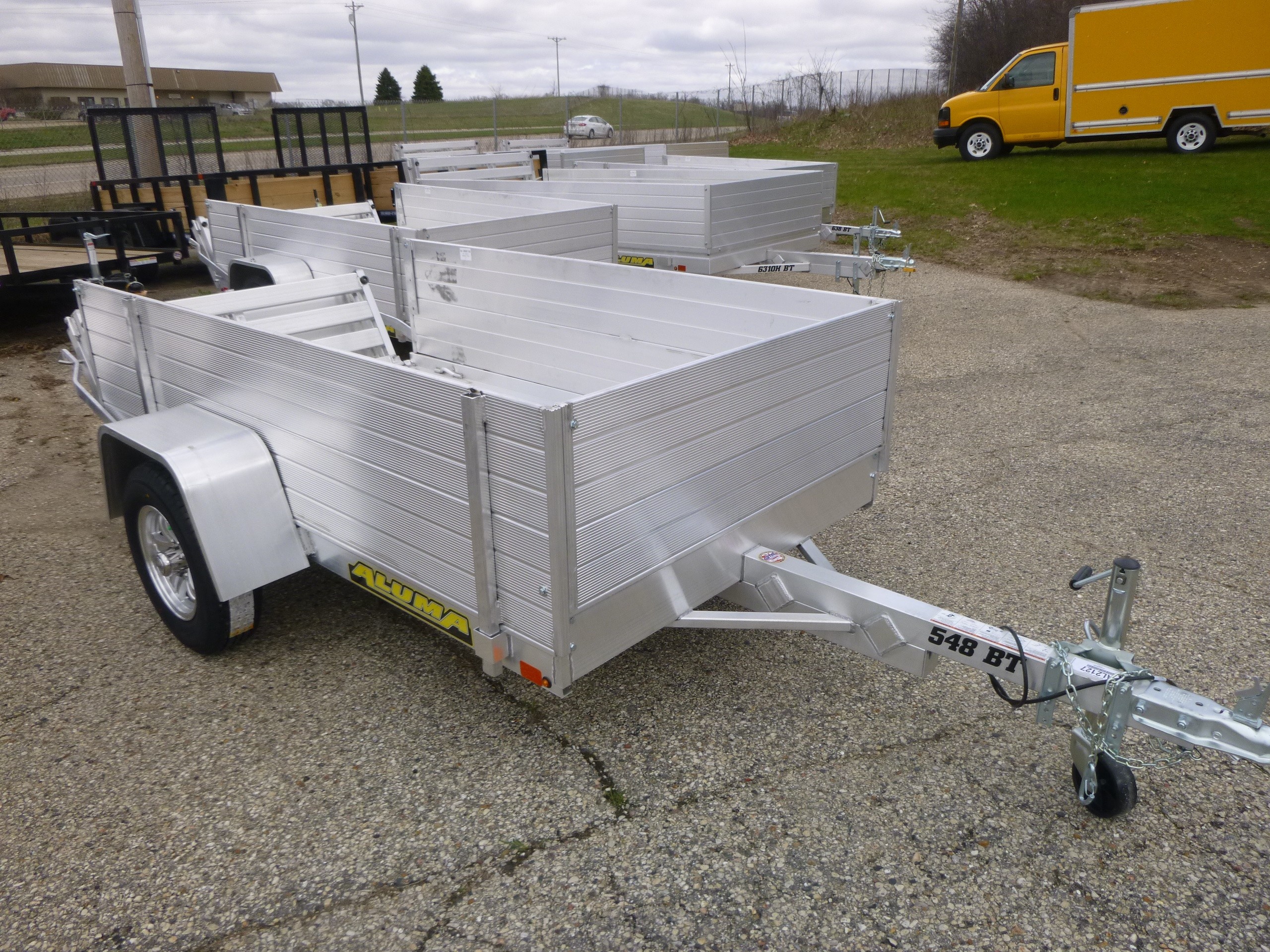 New, 2021, Aluma, 548S-BT, Utility/Light-Duty Trailers