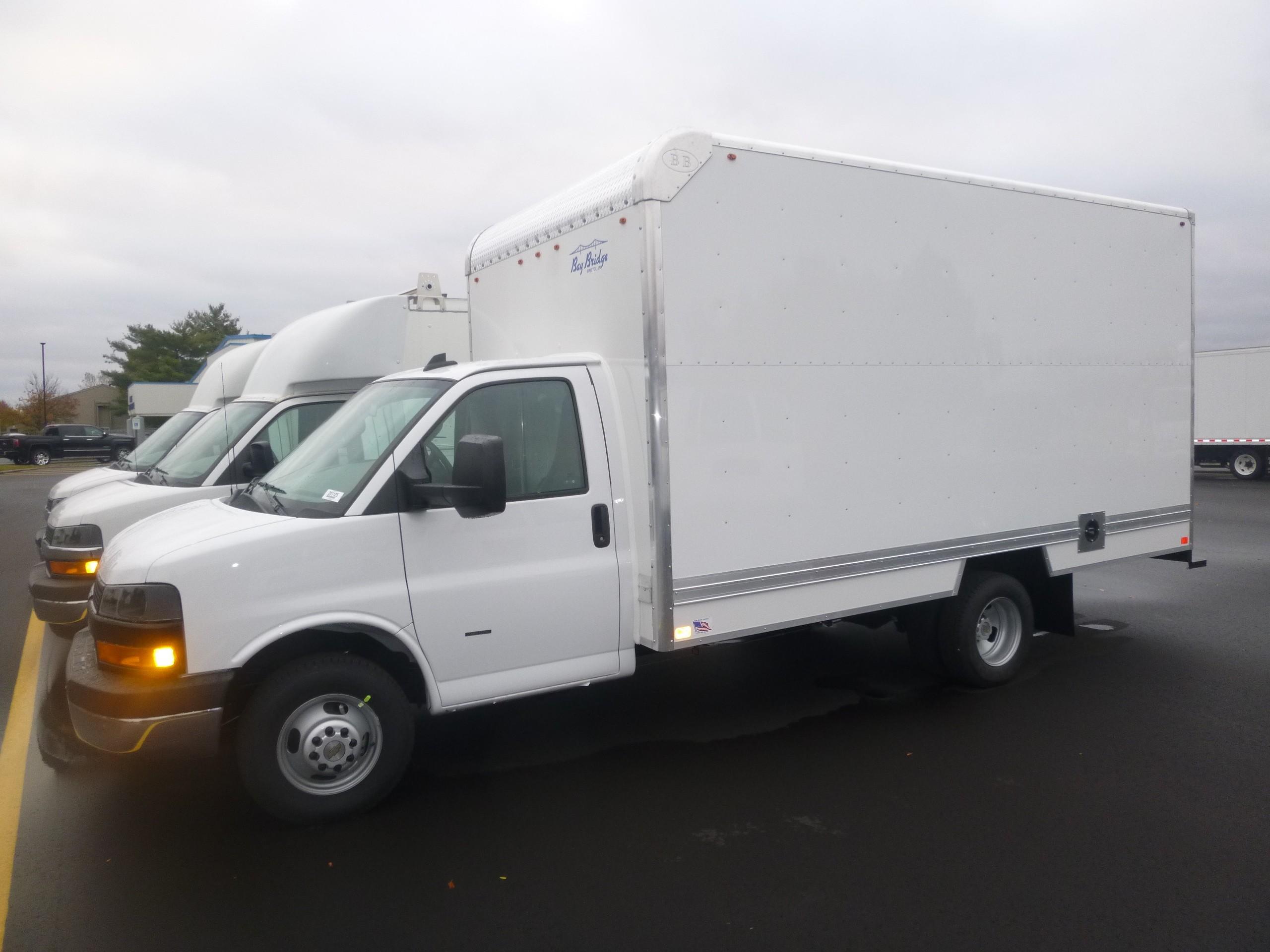New, 2020, Chevrolet, Express 3500 Cube van,, Van Trucks