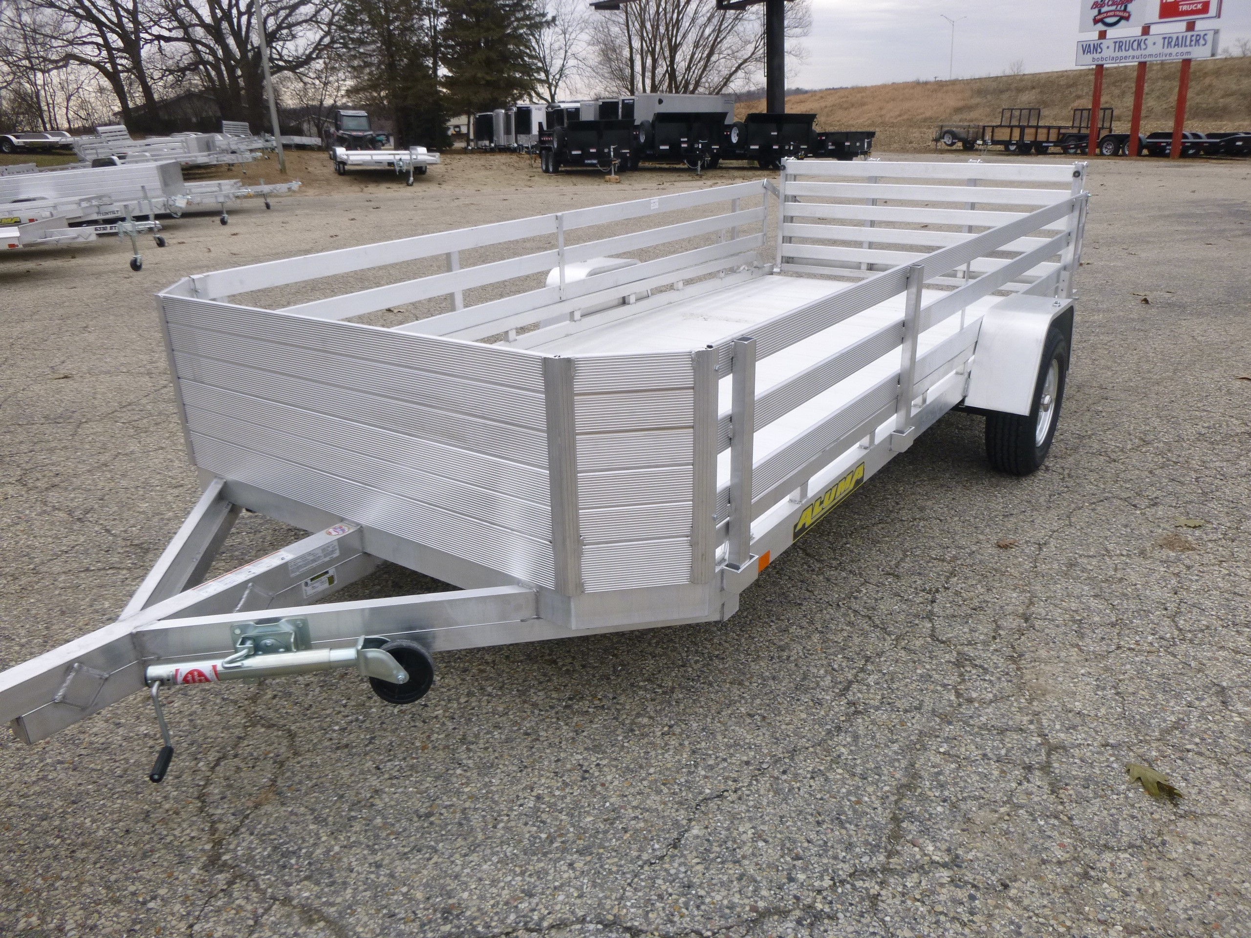 New, 2020, Aluma, 7814SBT, Trailers