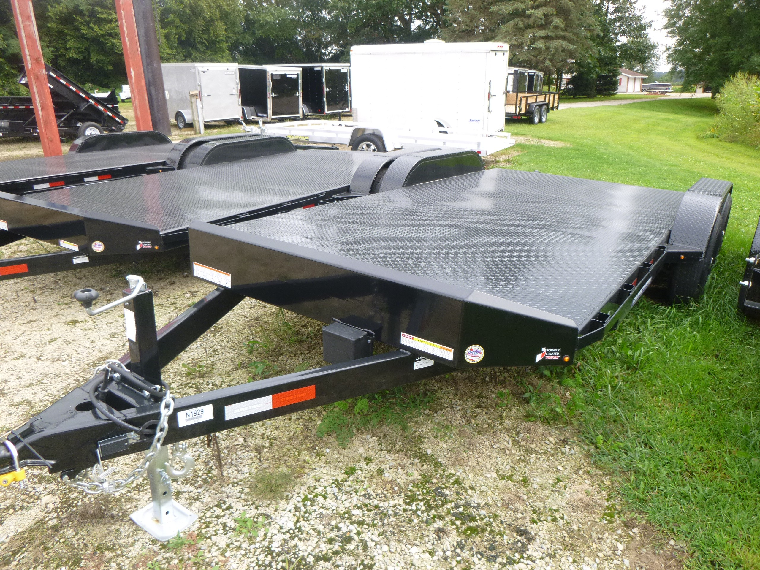 New, 2019, Sure-Trac, 7x18 Car Hauler, Trailers