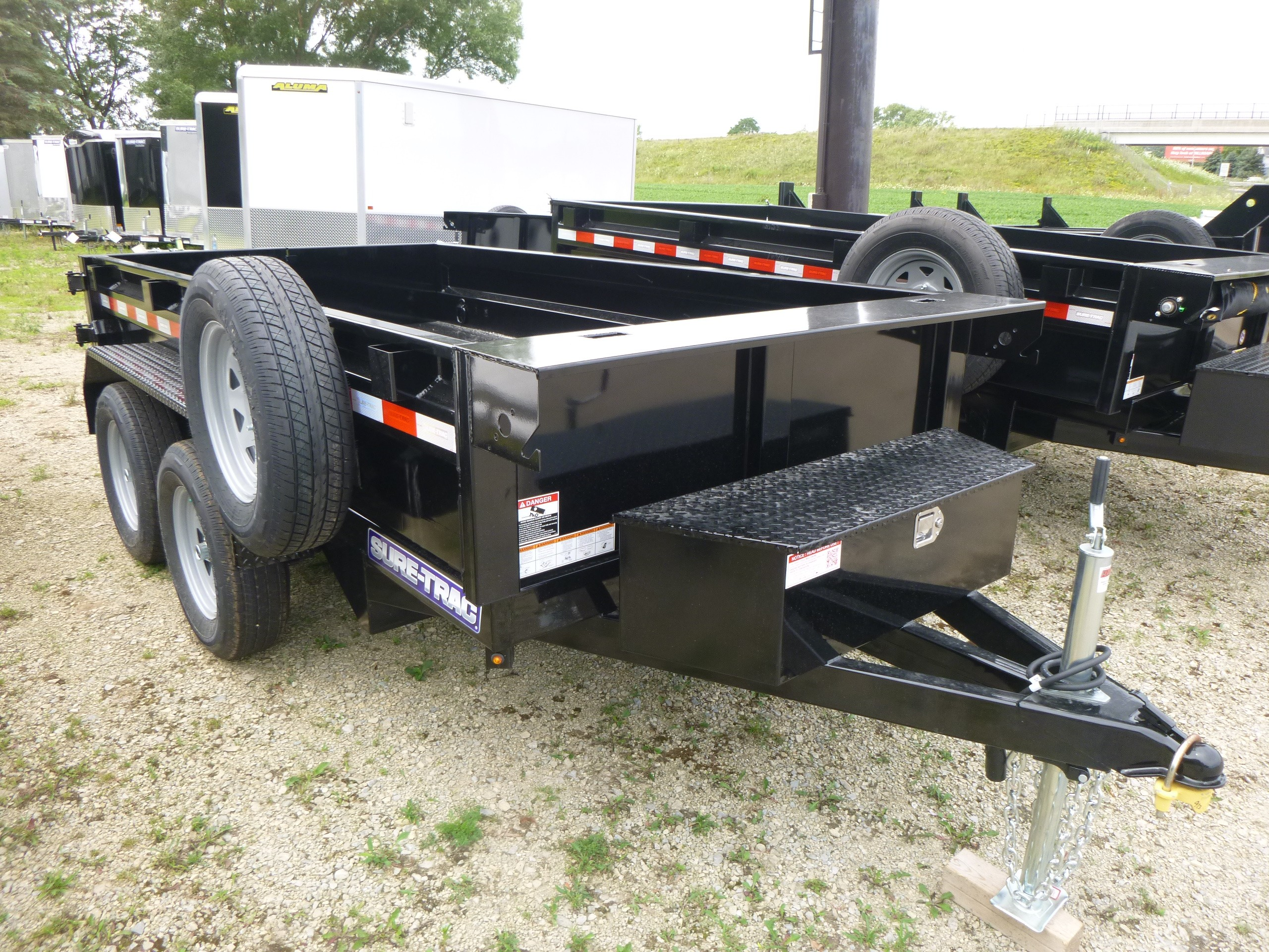 New, 2021, Sure-Trac, 5x10 Dump Trailer, Trailers