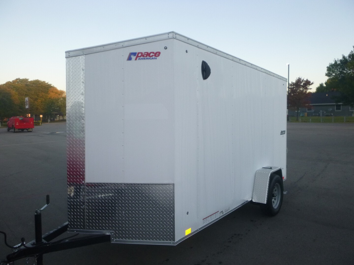 New, 2022, Pace American, JV612S, Cargo Trailers