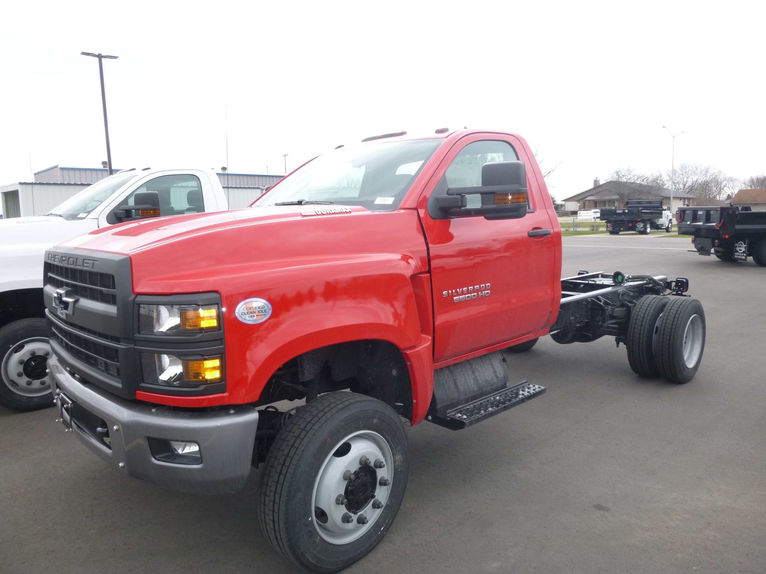 New, 2021, Chevrolet, Chevrolet 5500HD 4X4, Cab / Chassis Trucks