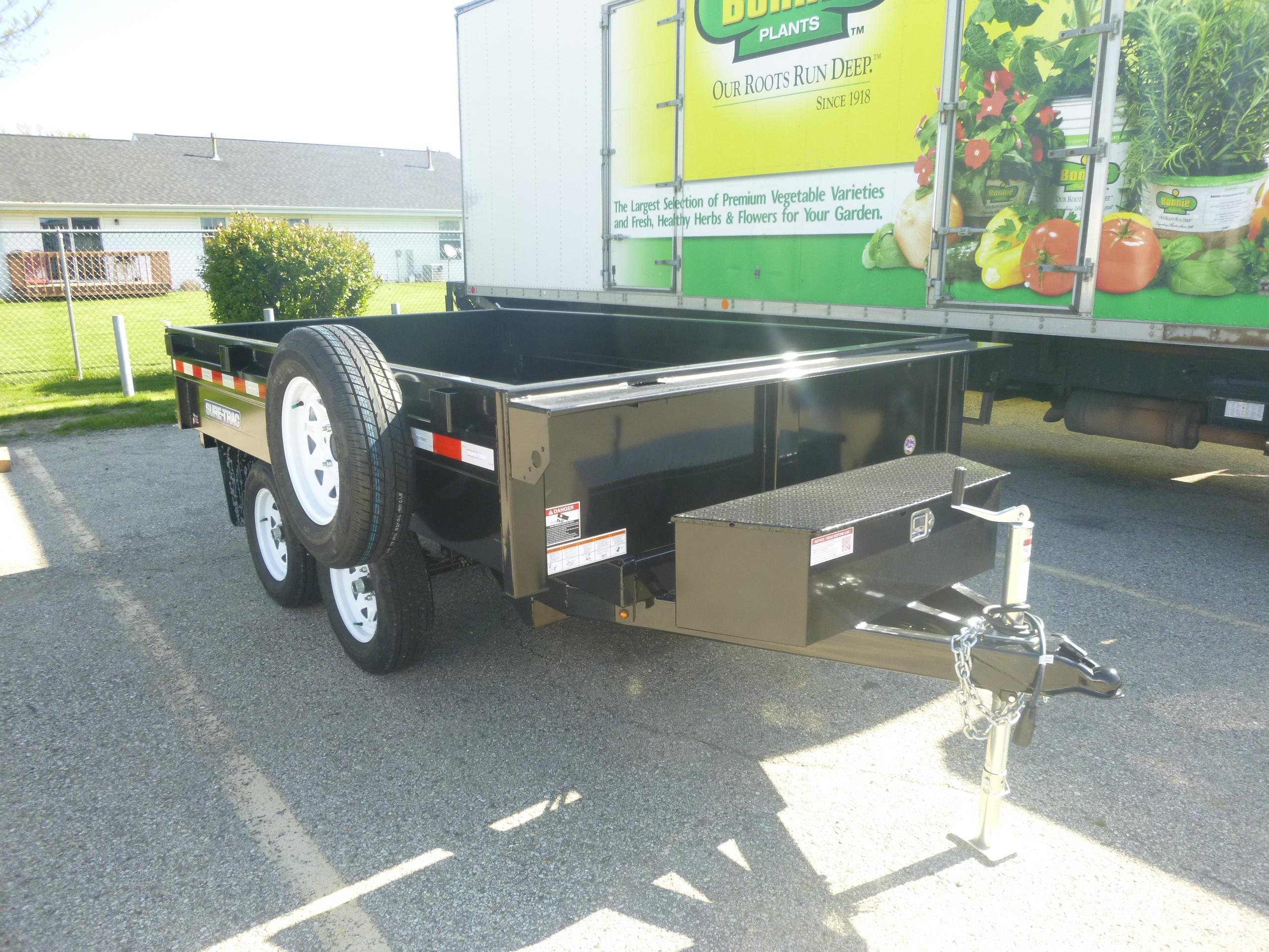 New, 2019, Sure-Trac, 6x10 Deckover Dump Trailer, Trailers