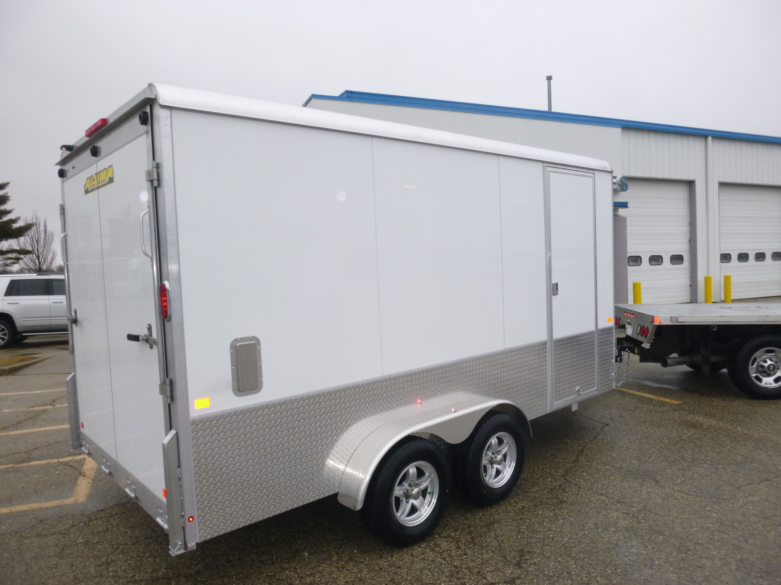 New, 2021, Aluma, AE7x14, Trailers
