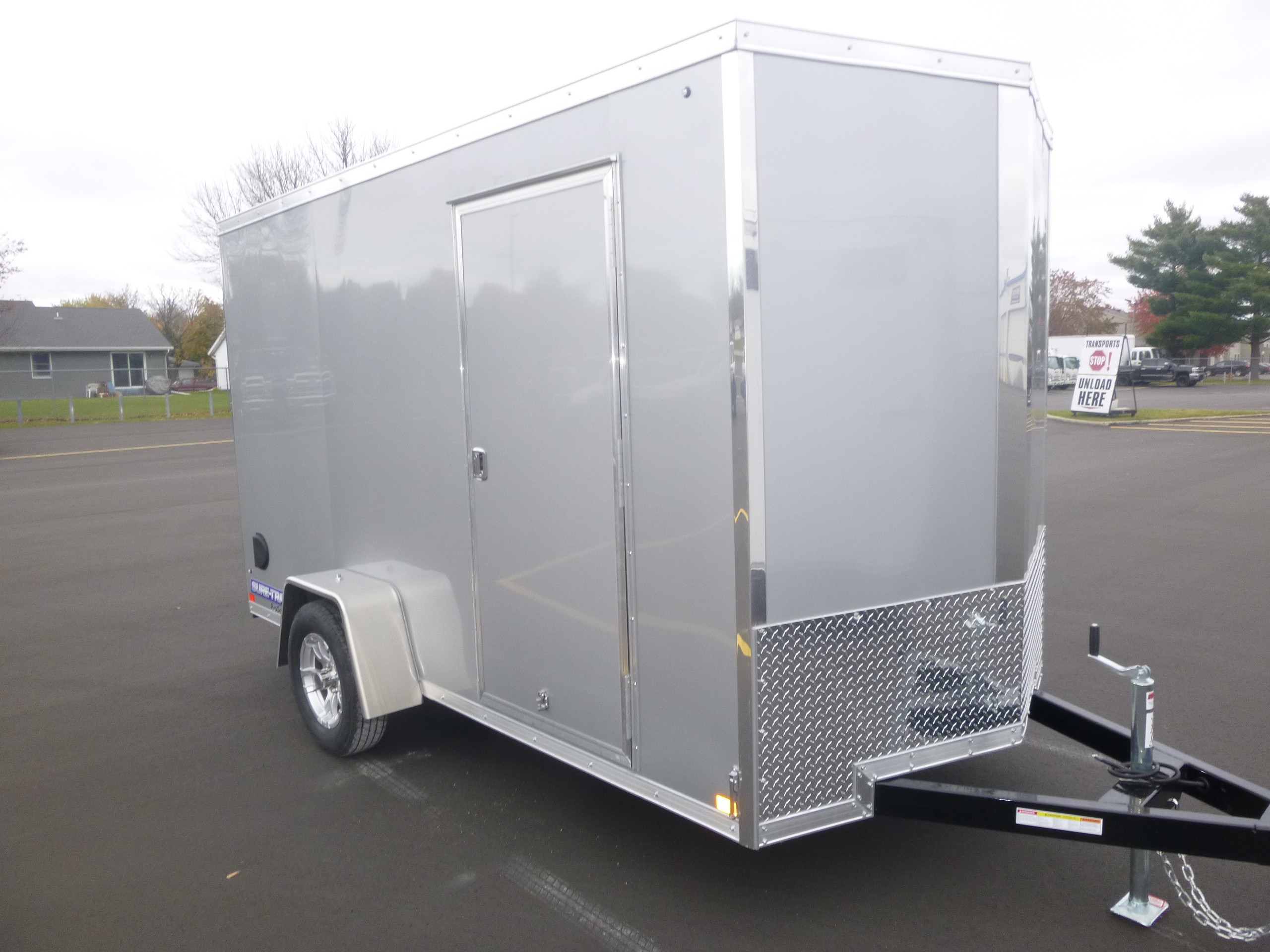 New, 2021, Sure-Trac, 6x12 Cargo Trailer, Trailers