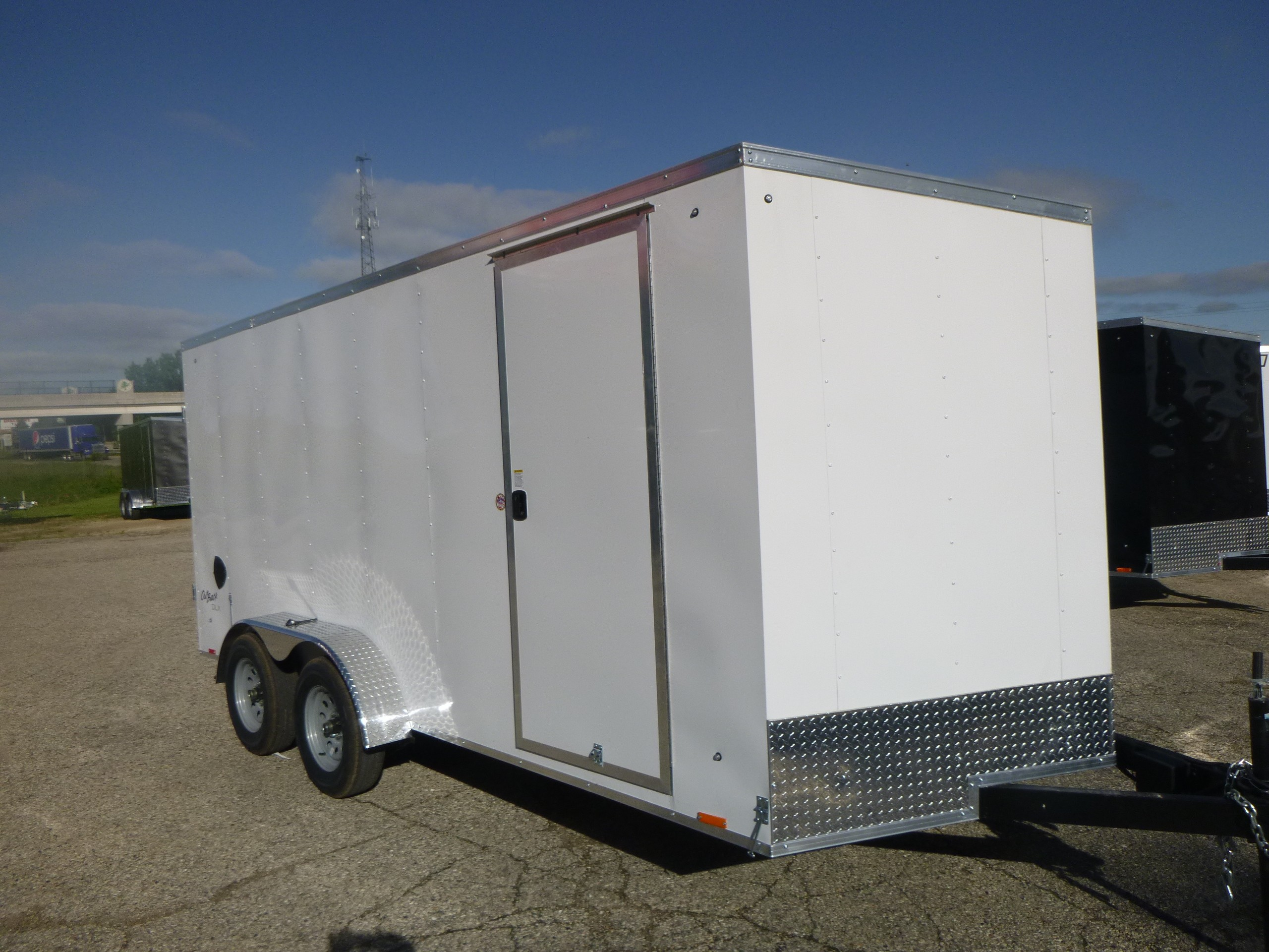 New, 2021, Pace American, Outback 7x16, Trailers