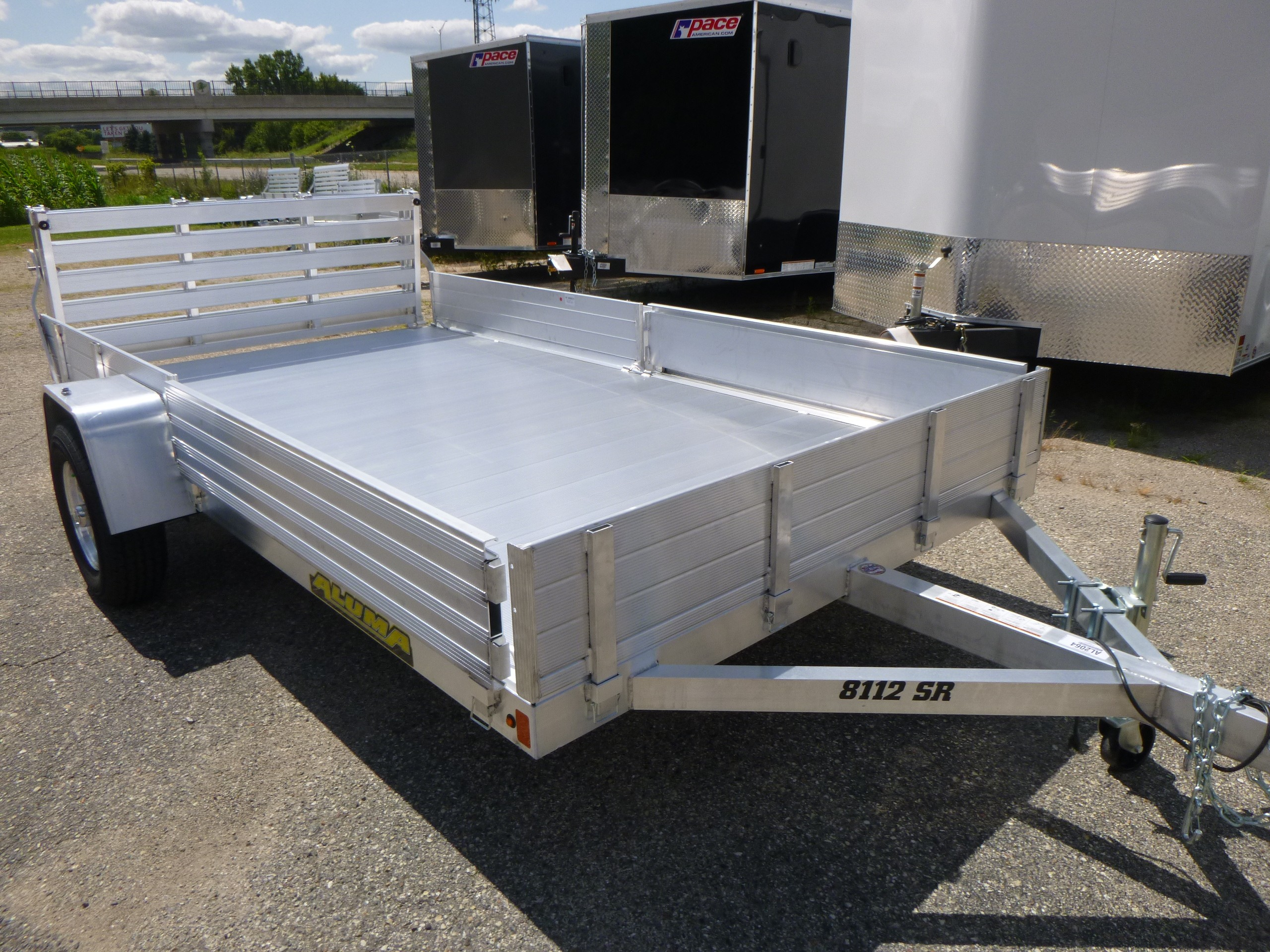 New, 2020, Aluma, 8112SR, Trailers