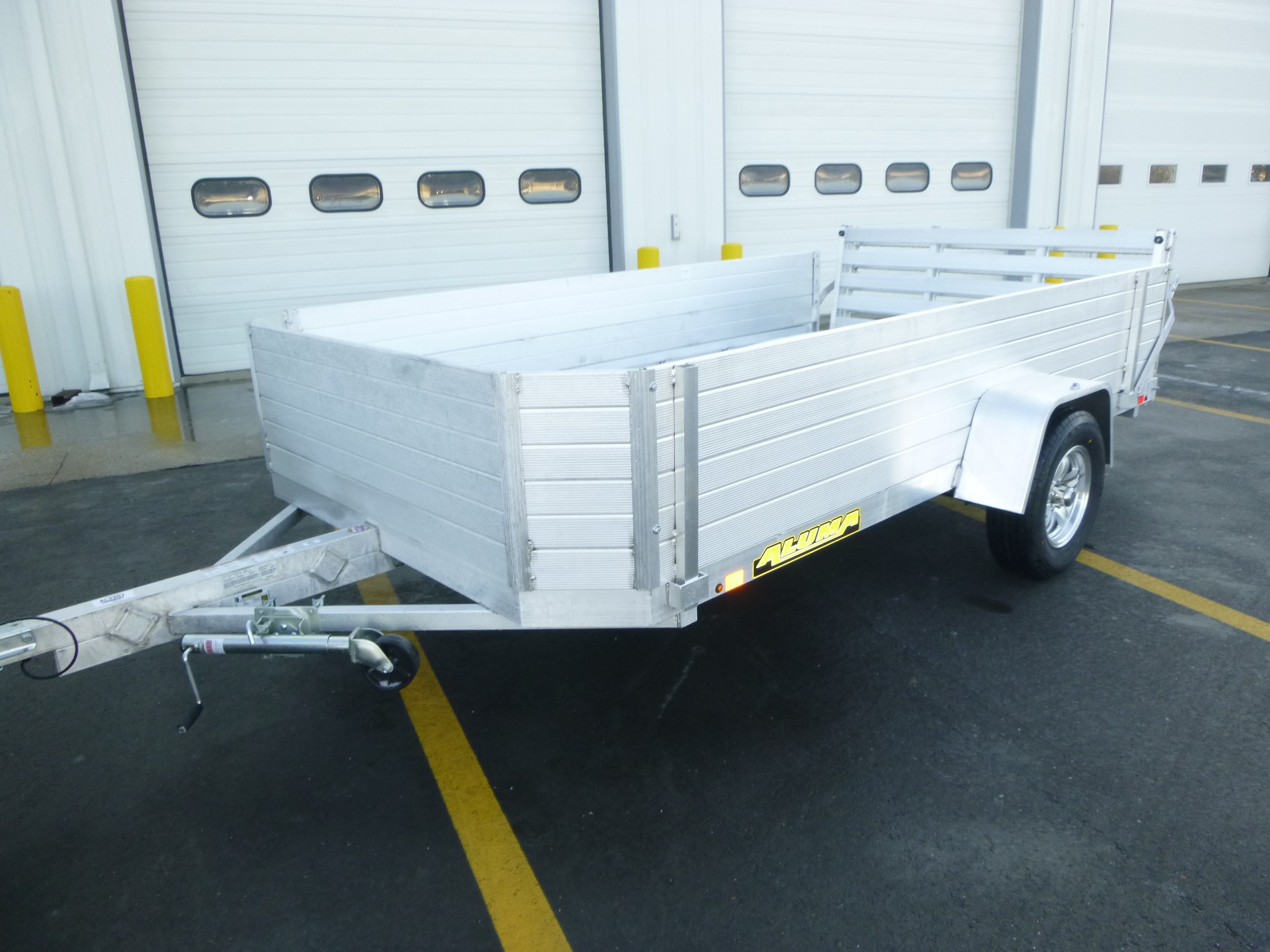 New, 2022, Aluma, 7712H-BT, Utility Trailers