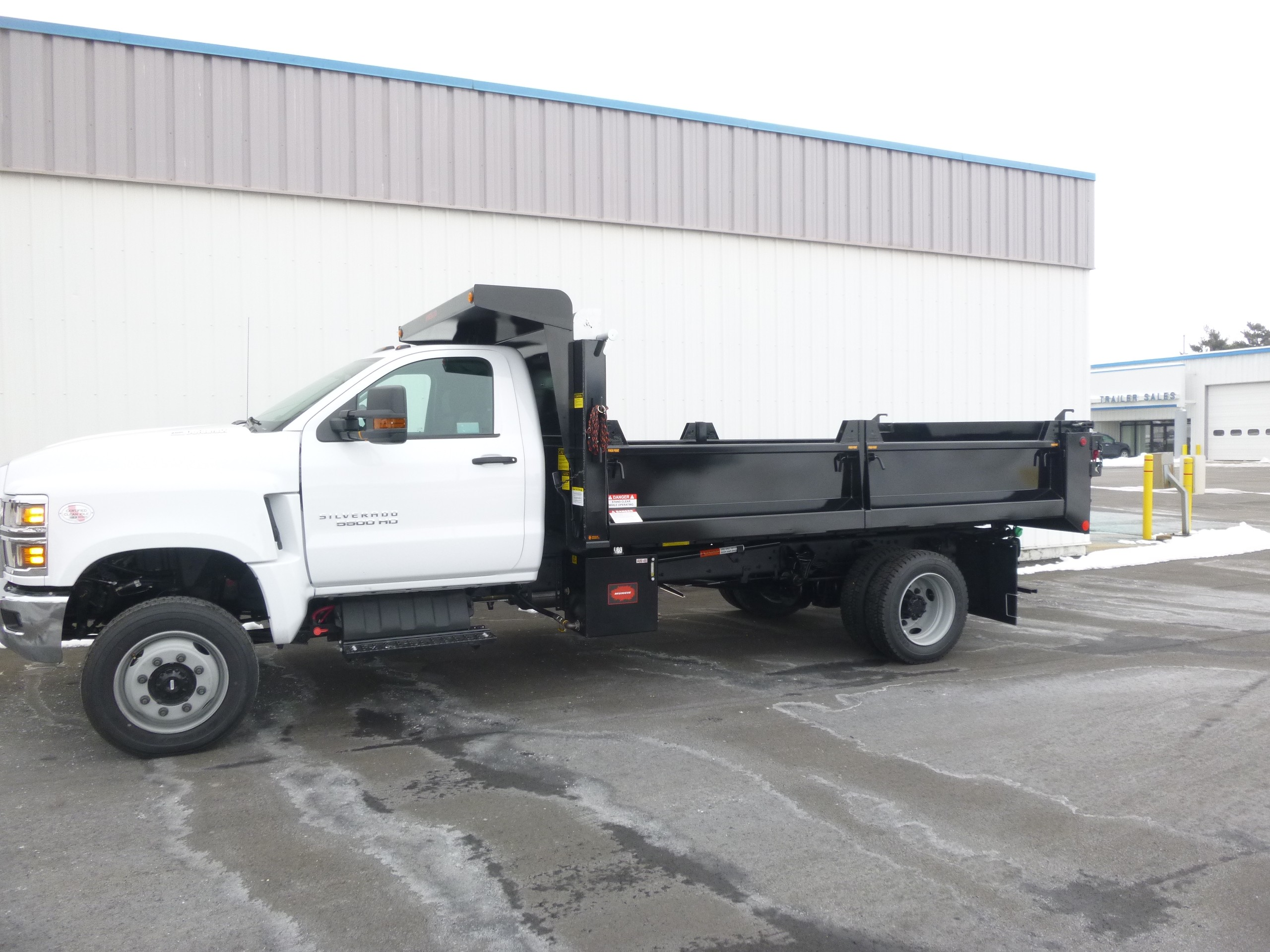 New, 2020, Chevrolet, 5500 4x4, Dump Trucks