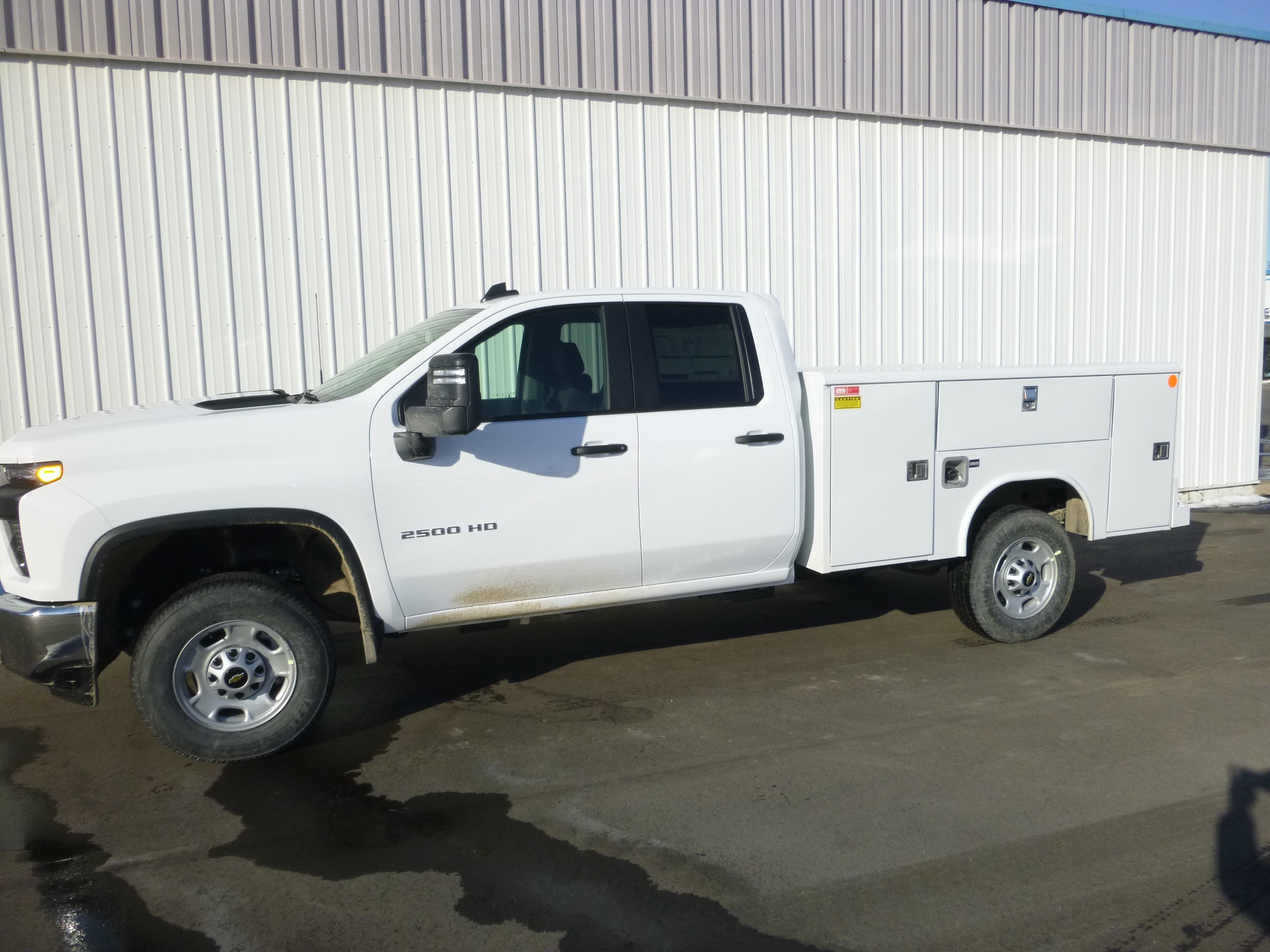 New, 2021, Chevrolet, 2500HD 4X4, Service / Utility Trucks
