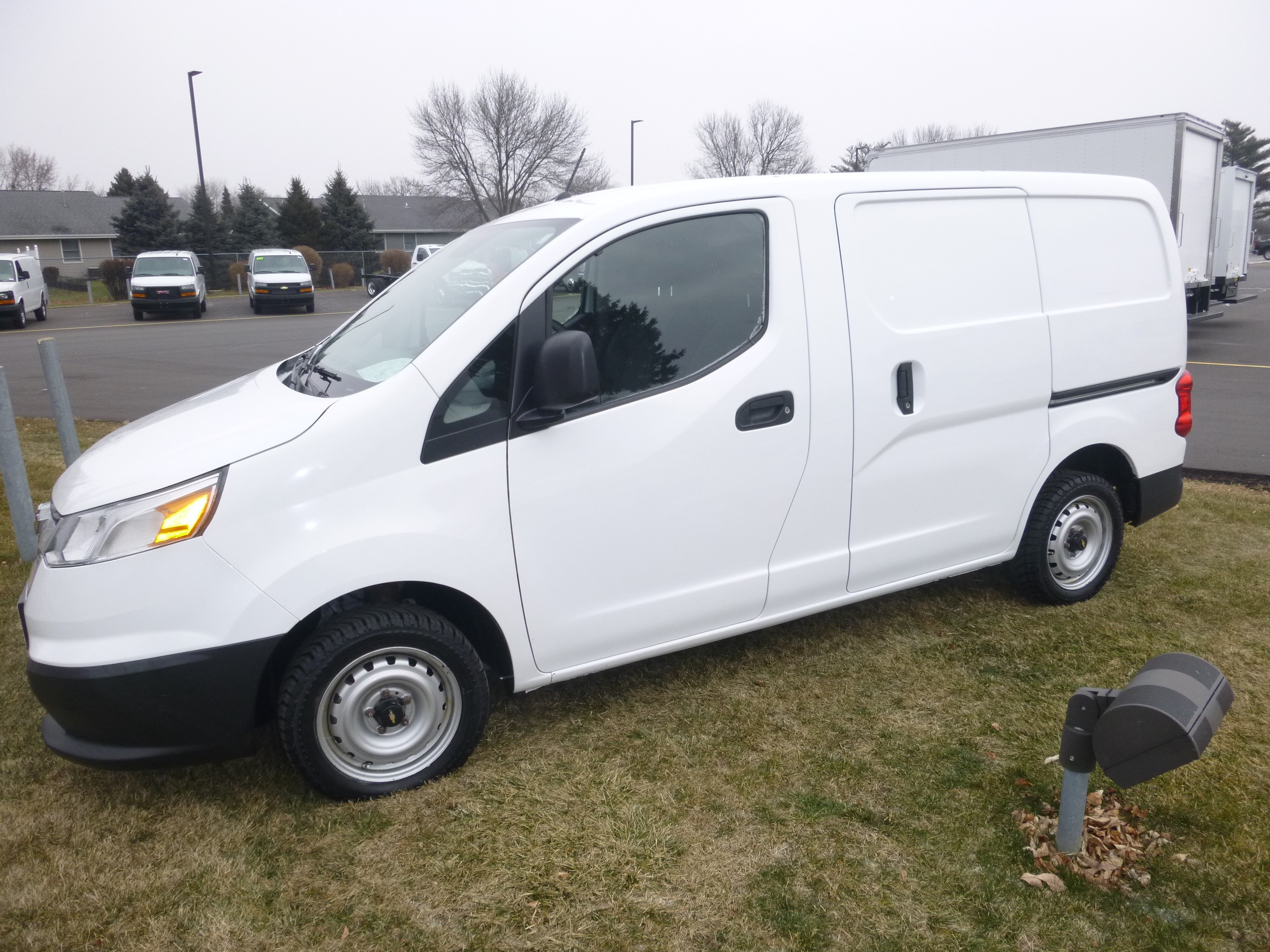 Used, 2015, Chevrolet, Chevy City Express LT, Vans