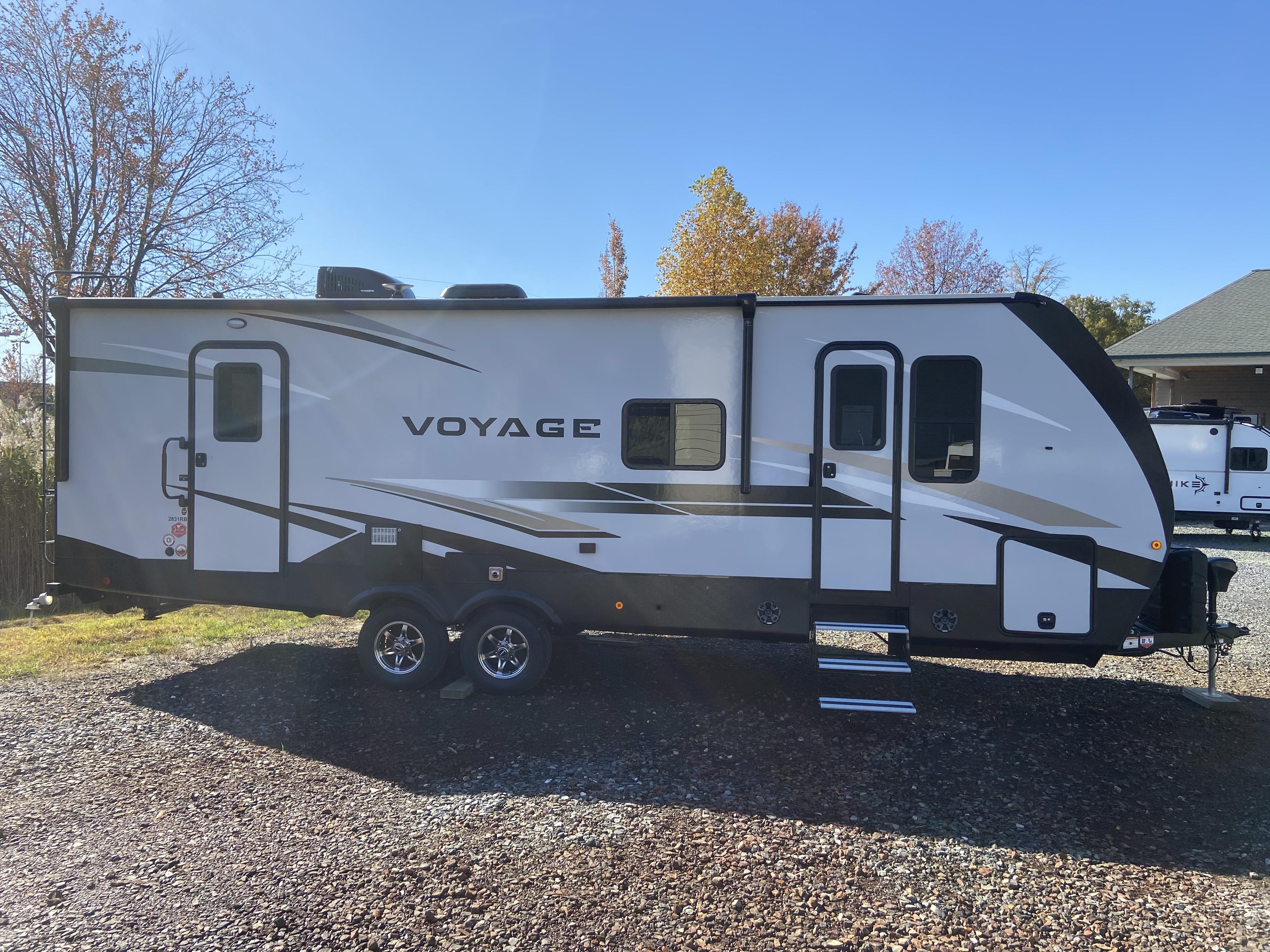 New, 2021, Winnebago, Voyage 2831RB, Travel Trailers