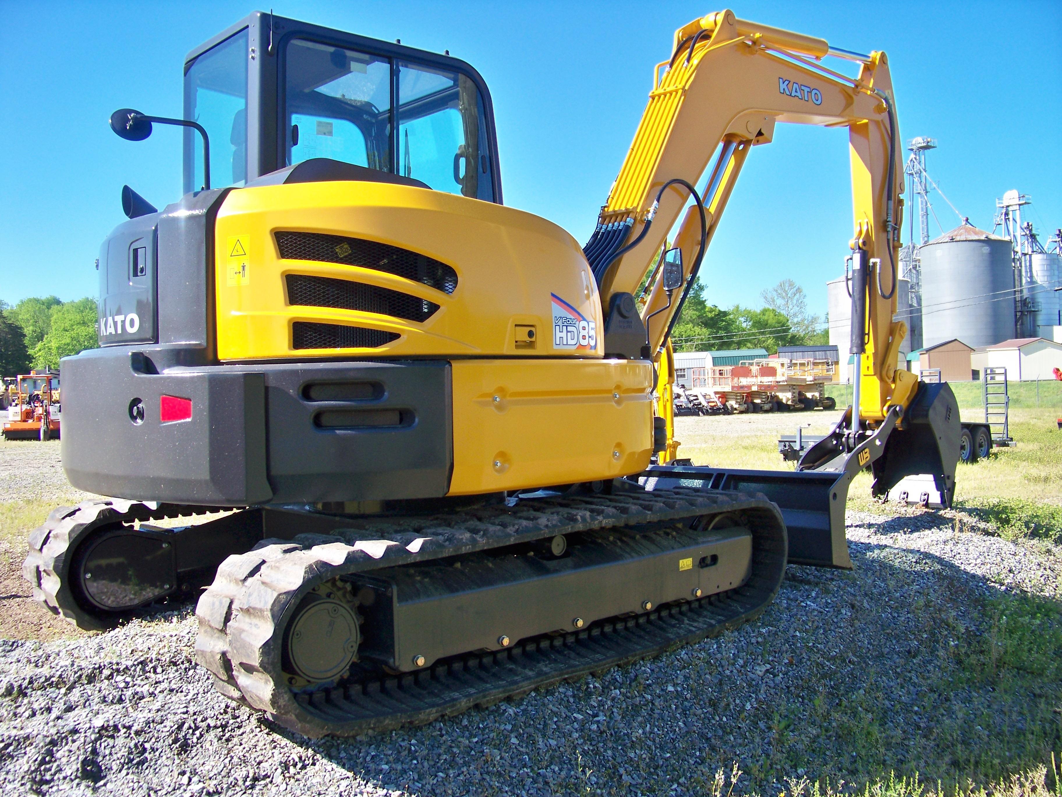 New, 2019, Kato, HD85, Excavators