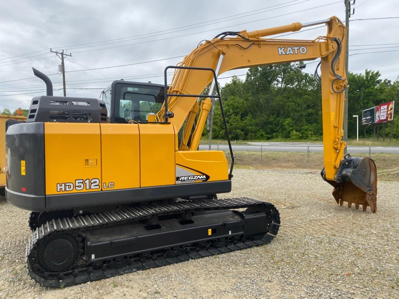 New, 2020, Kato, HD512LC-7, Excavators
