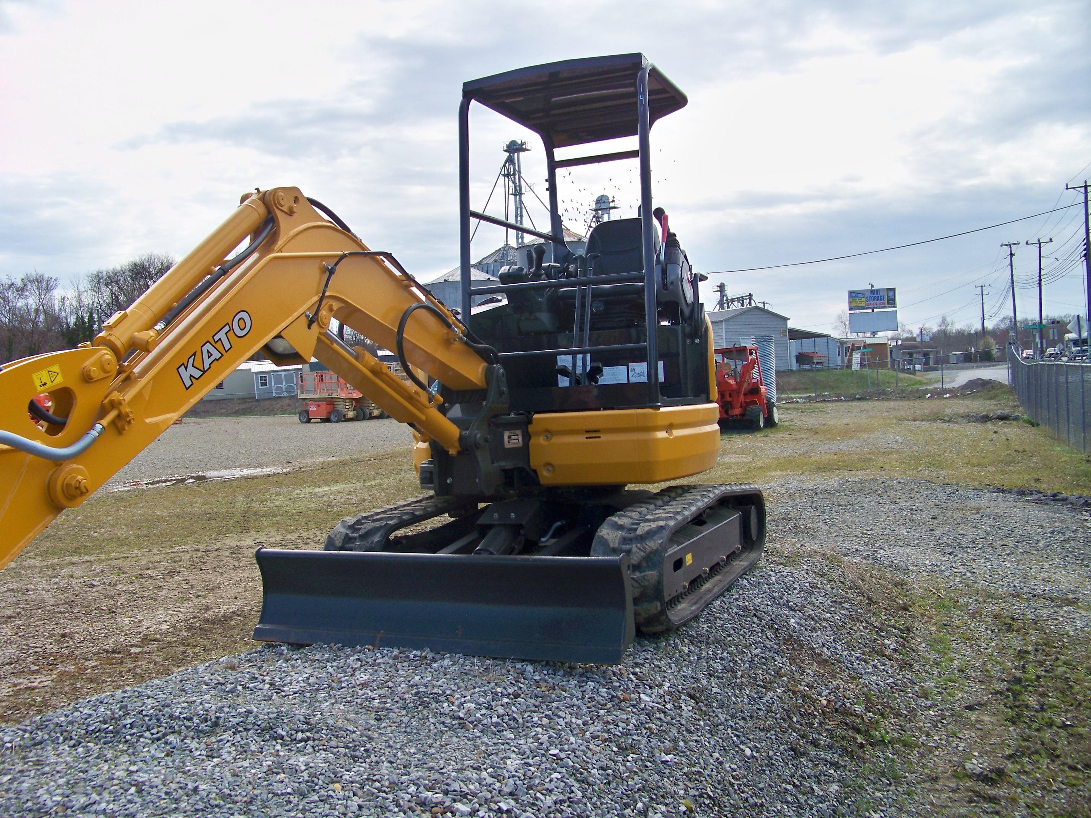 Used, 2018, Kato, HD30, Excavators
