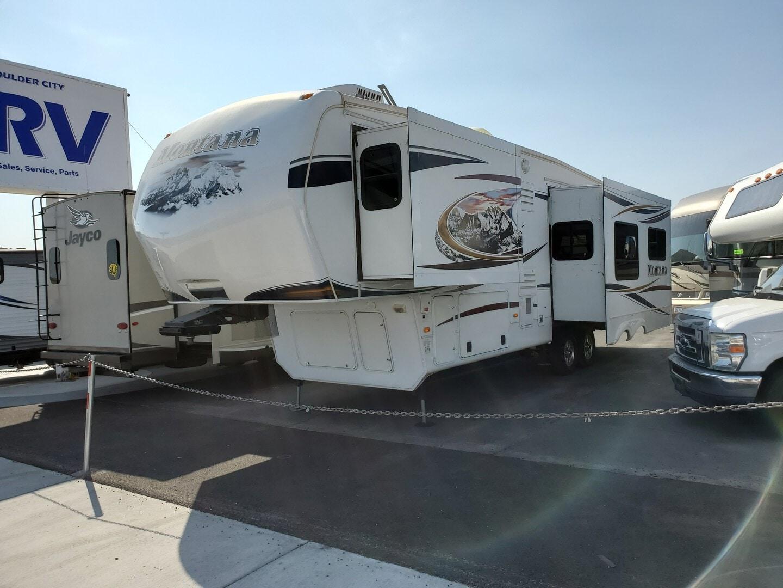 Used, 2012, Keystone, Montana 3150RL, Fifth Wheels