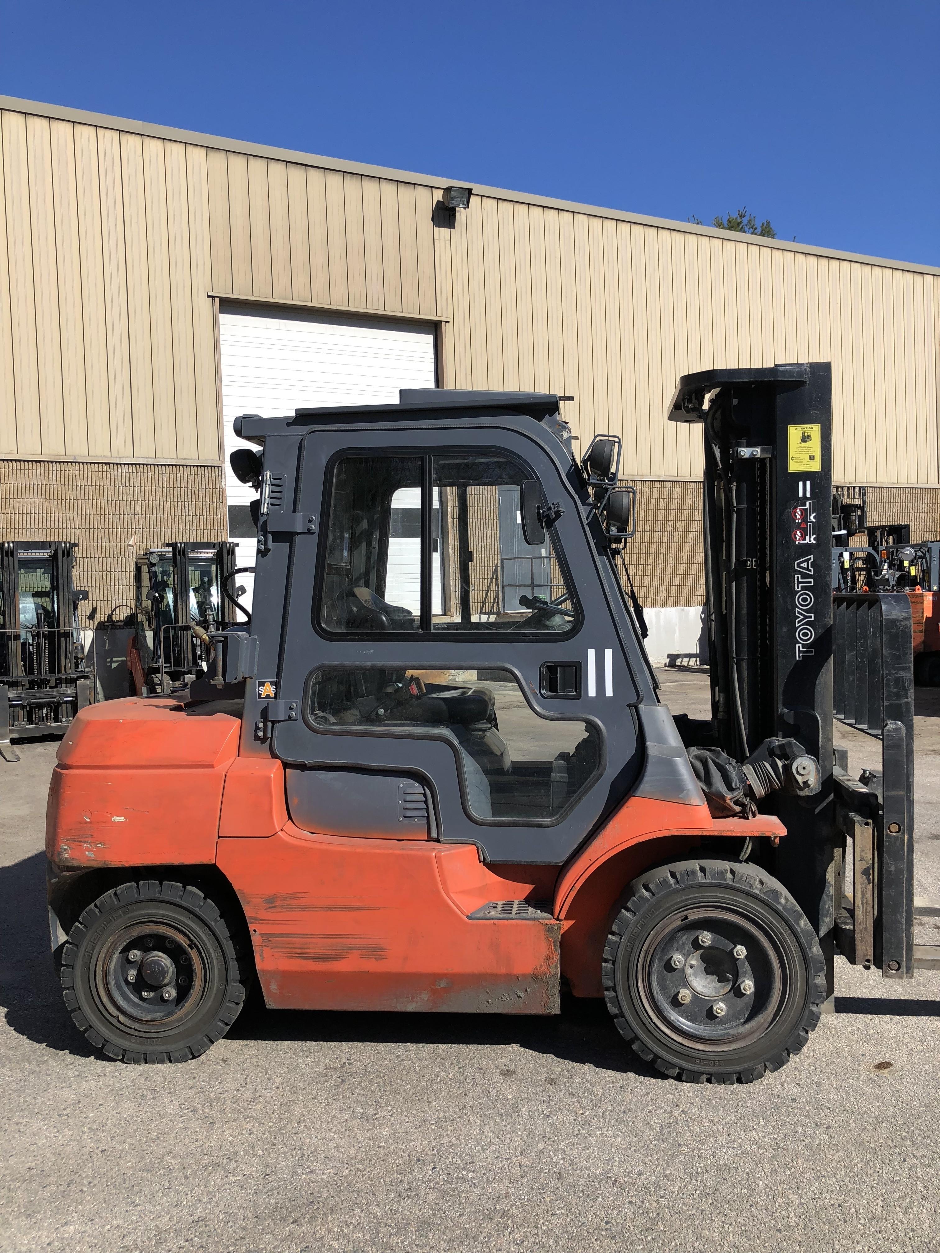 Used, 2012, Toyota Industrial Equipment, 7FGU35, Forklifts / Lift Trucks