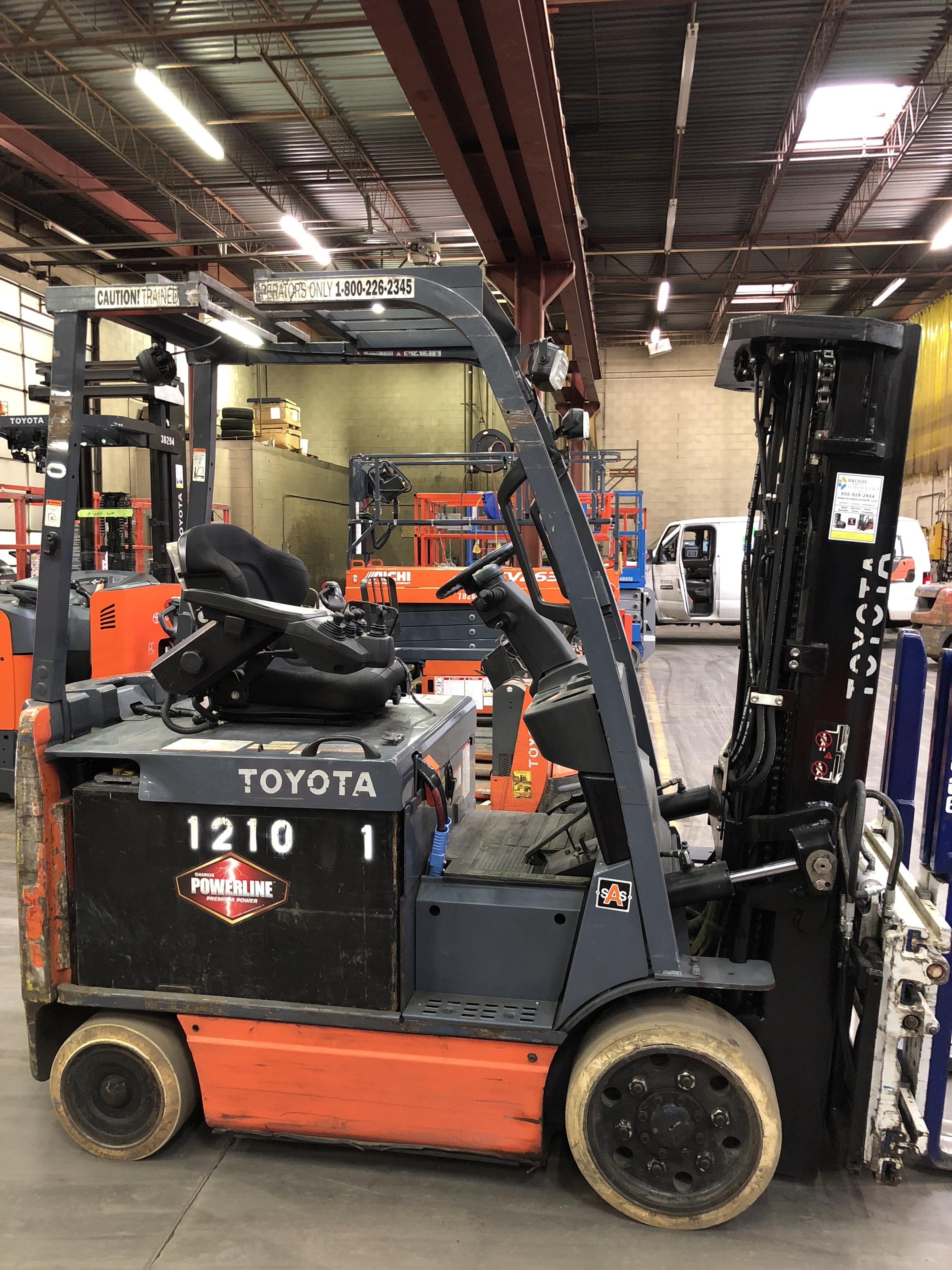 Used, 2012, Toyota Industrial Equipment, 8FBCU30, Forklifts / Lift Trucks