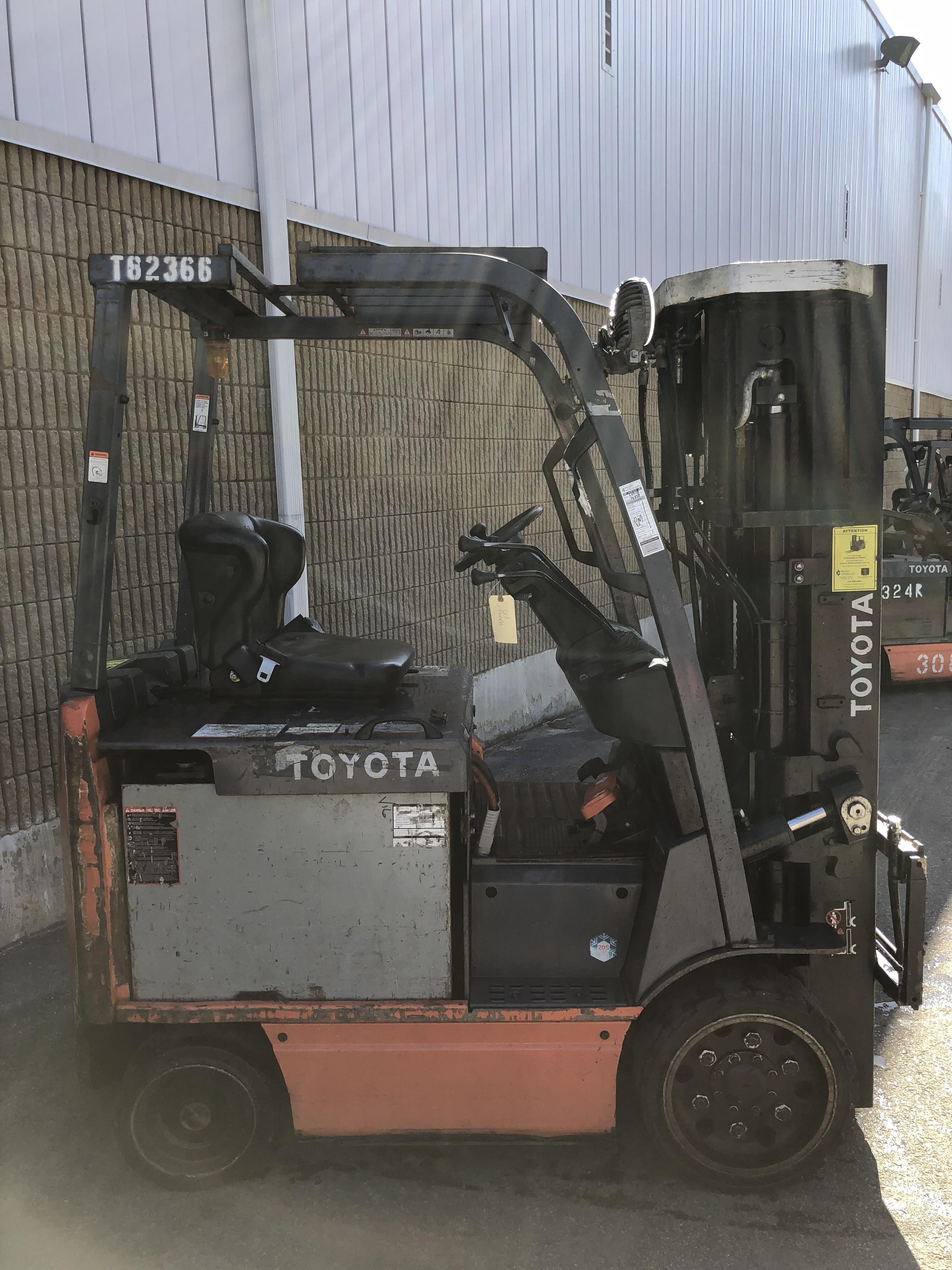 Used, 2011, Toyota Industrial Equipment, 8FBCU25, Forklifts / Lift Trucks