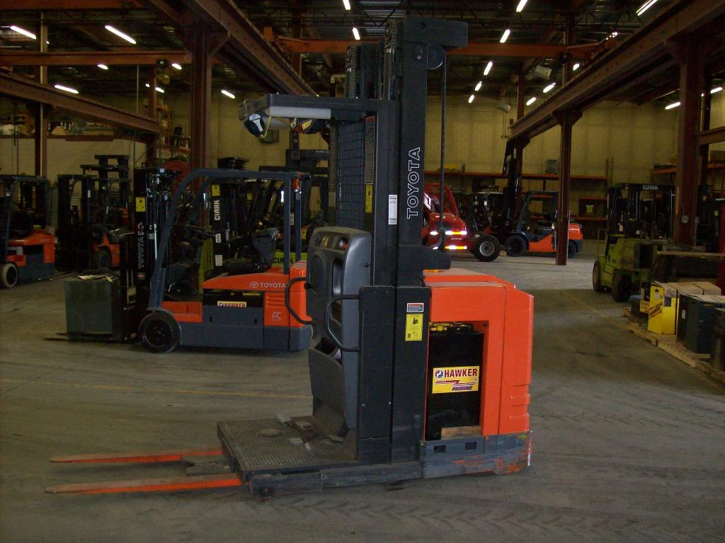 Used, 2010, Toyota Industrial Equipment, 7BPUE15, Forklifts / Lift Trucks