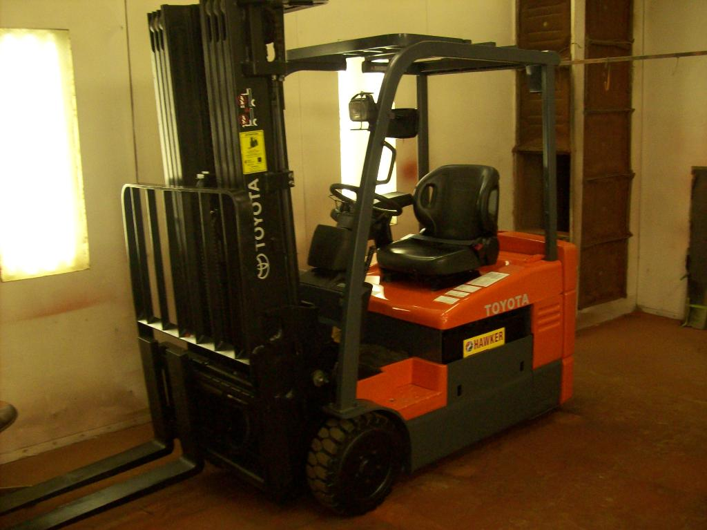 Used, 2012, Toyota Industrial Equipment, 7FBEU20, Forklifts / Lift Trucks