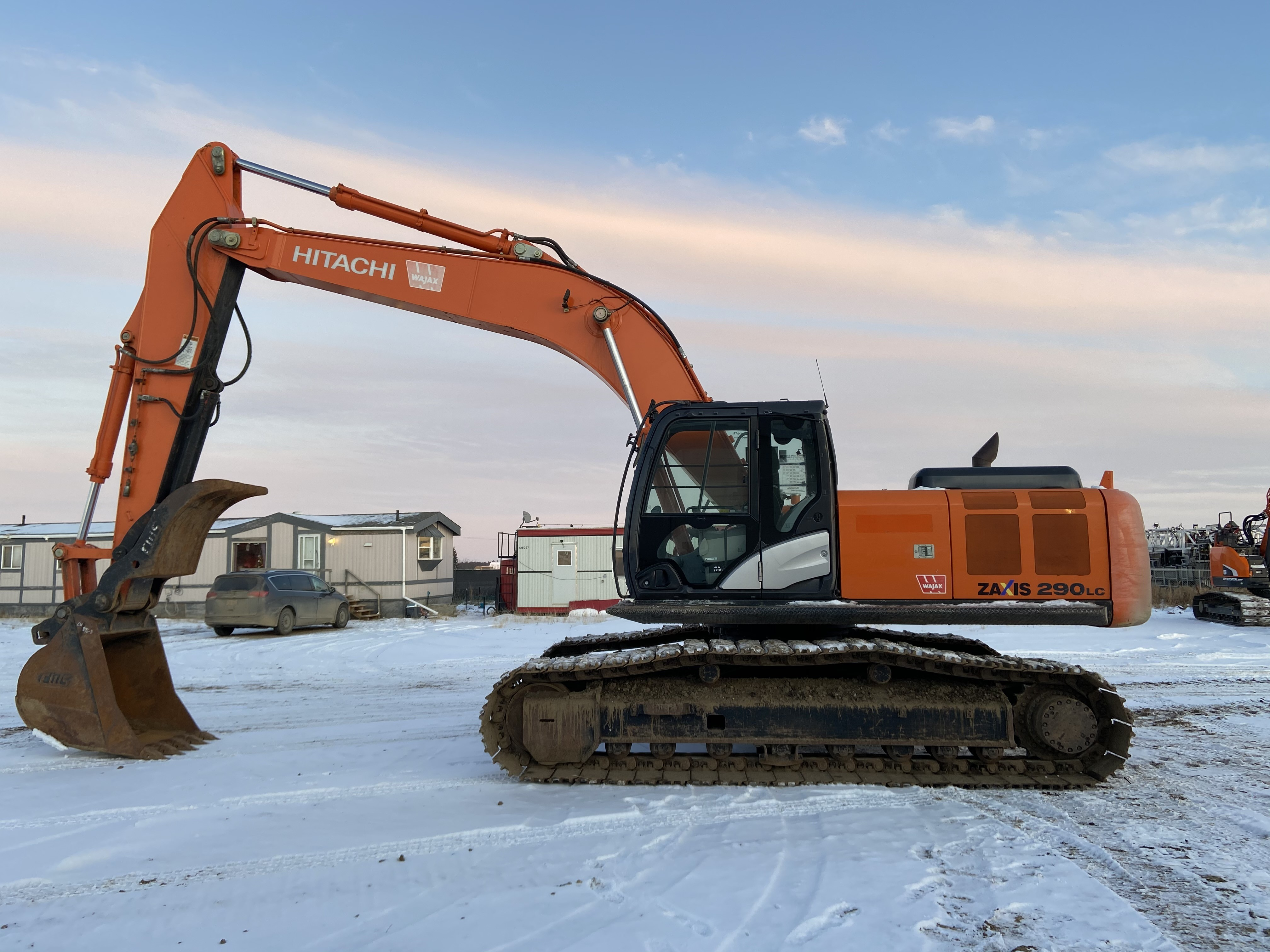 excavator zx290 hitachi