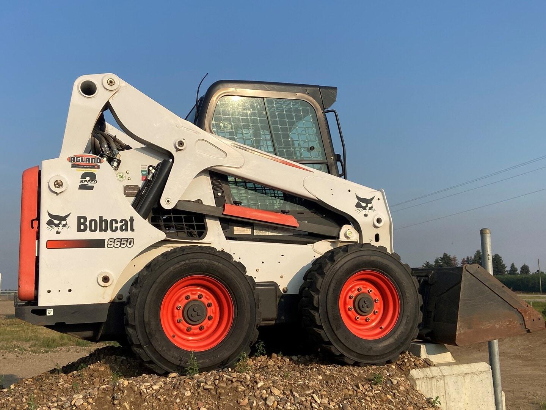 Used, 2013, Bobcat, S650, Skid Steers