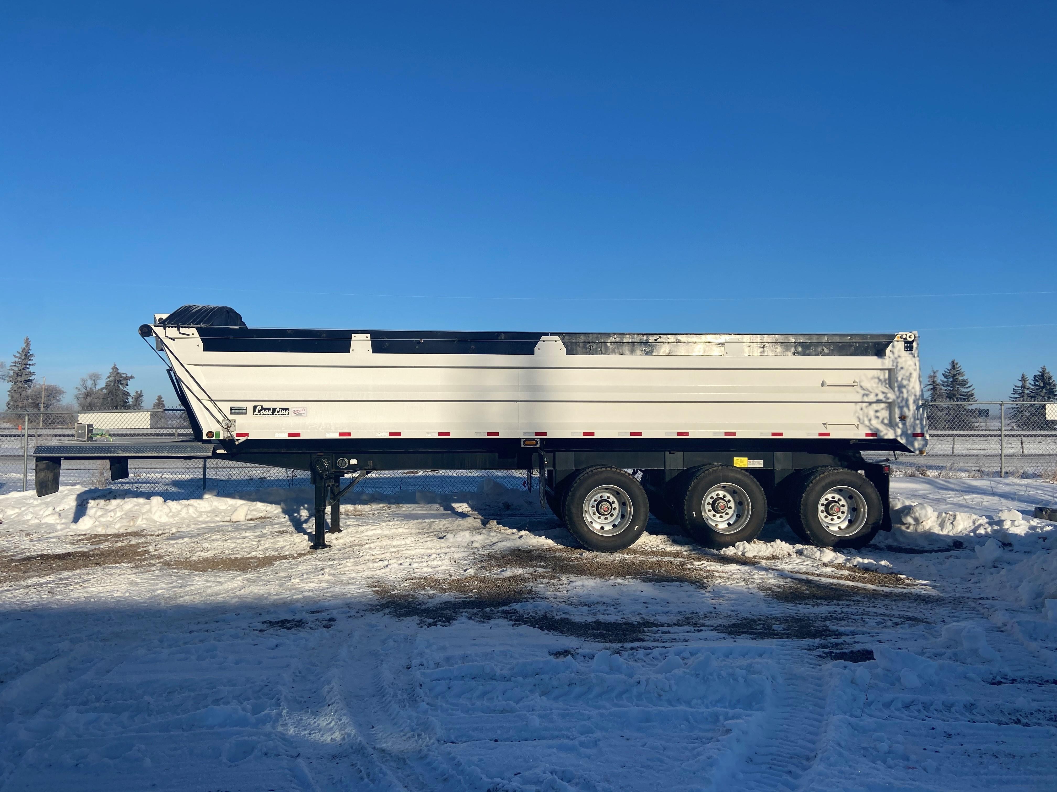 Used, 2019, Miscellaneous, Load Line 35' Tri-Axle End Dump Trailer, Dump Trailers