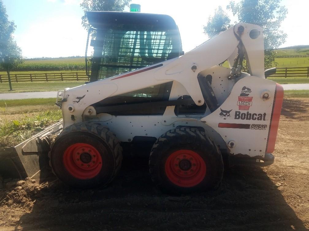 Used, 2015, Bobcat, S650, Skid Steers