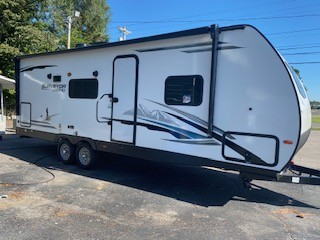 New, 2021, Forest River, Surveyor Legend 252RBLE, Travel Trailers
