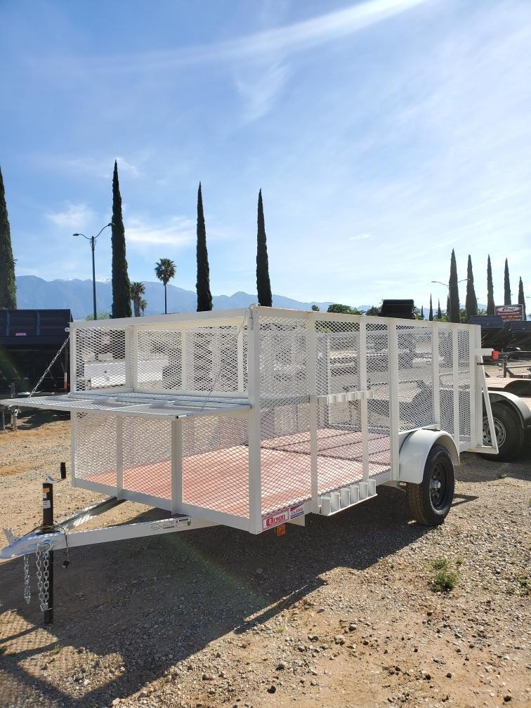 New, 2021, Carson Trailer, 6.5x12' Single Axle Custom Landscape Trailer in Beaumont, CA, Landscape