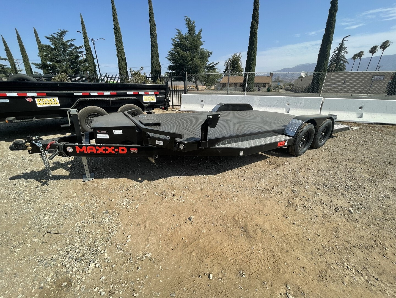 New, 2021, Maxxd Trailers, 2021 Maxx-D Car Hauler 7x18' in Beaumont, CA, Car Carrier Trailers