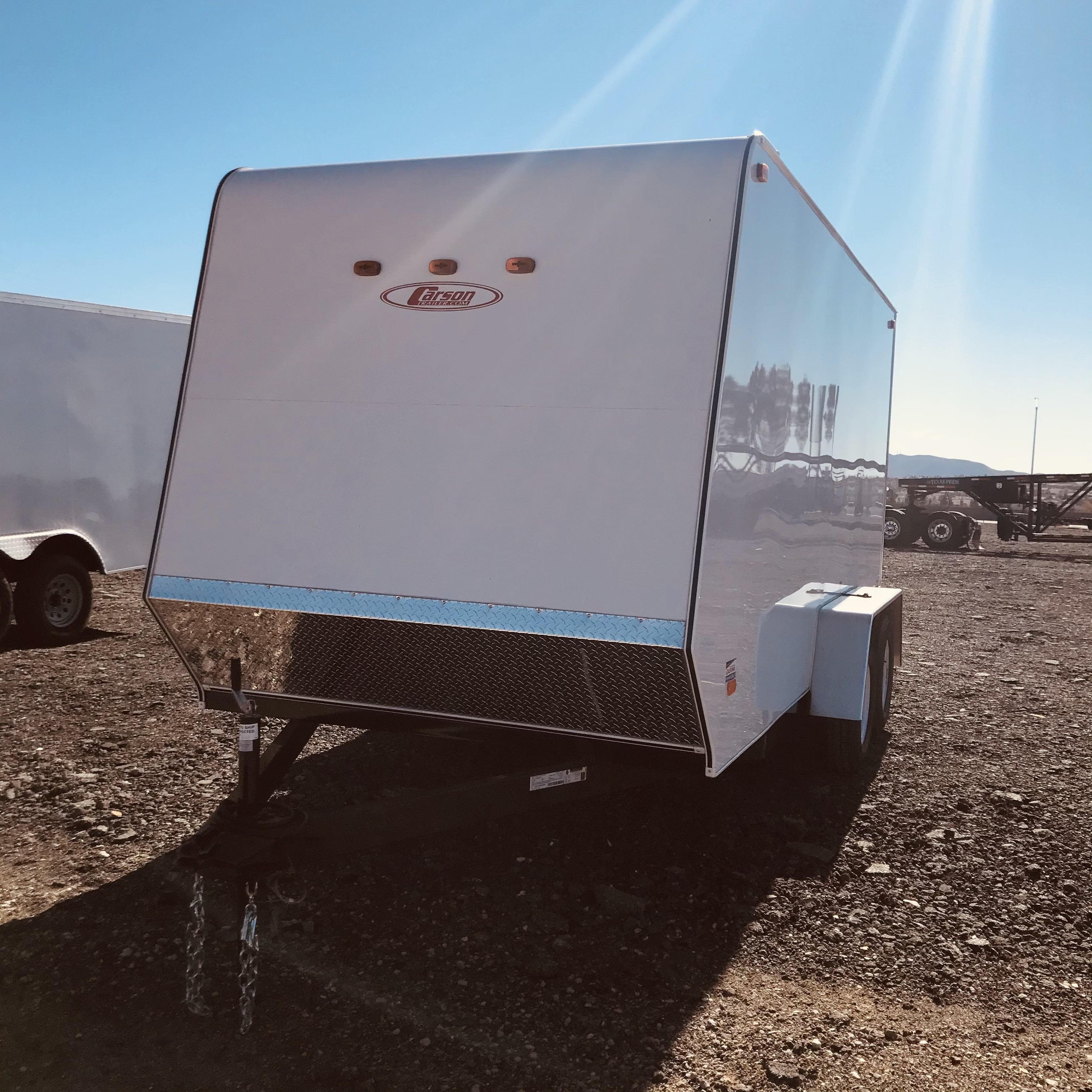 New, 2021, Carson Trailer, 7x16' Carson Enclosed Light Model in Beaumont, CA, Enclosed Trailers