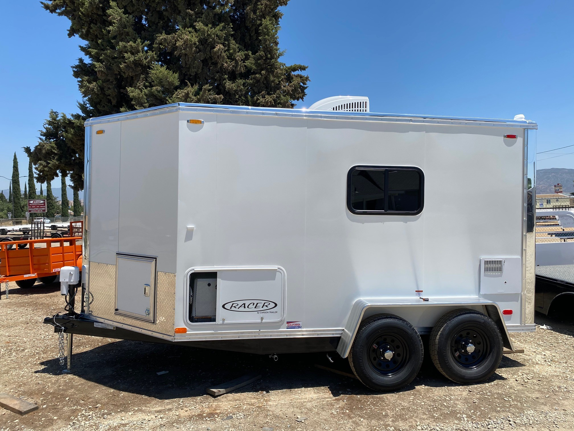 New, 2021, Carson Trailer, 2021 Carson Racer Mobile Dog Grooming Trailer in Beaumont, CA, Cargo Trailers
