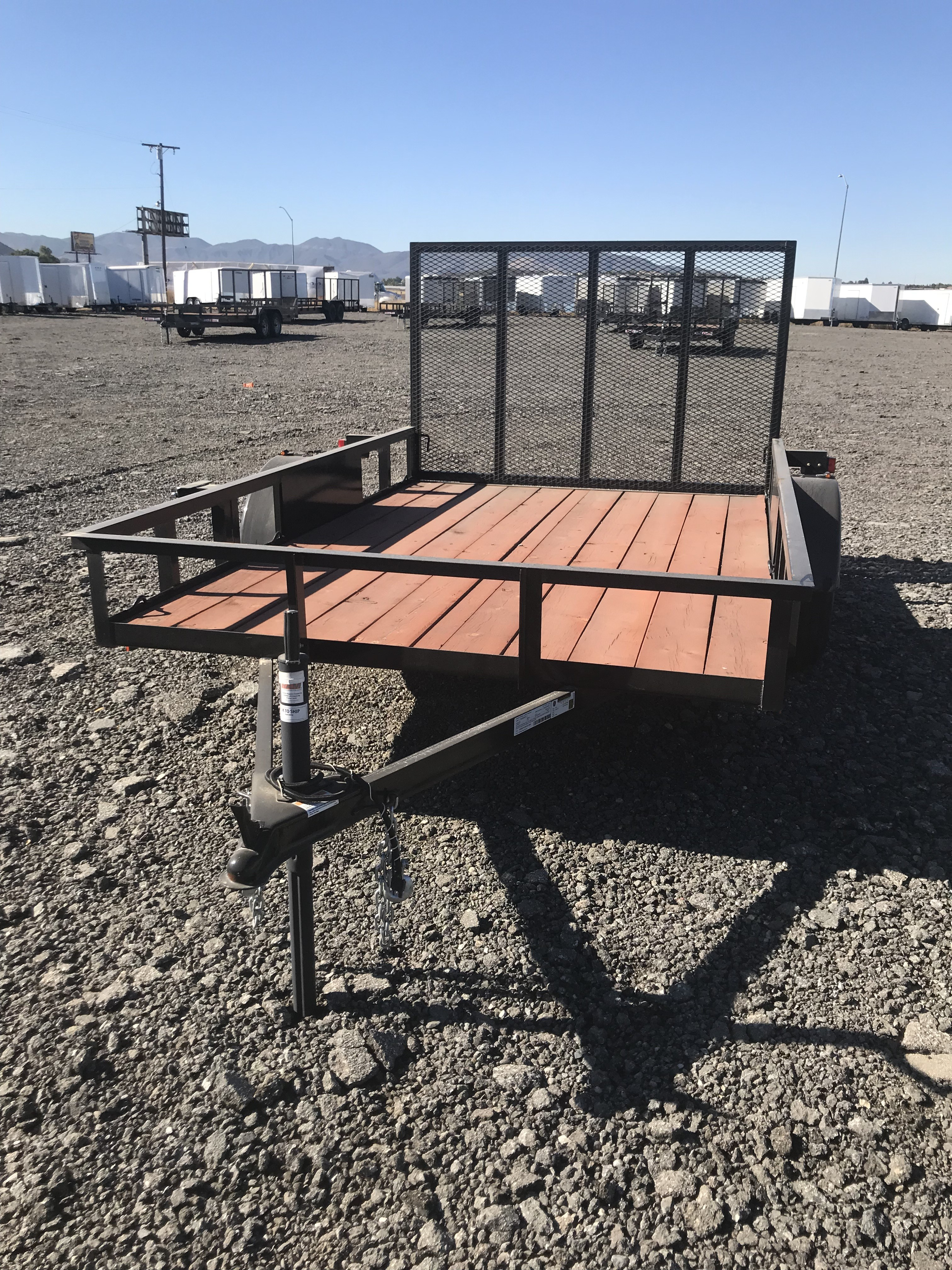 New, 2021, Carson Trailer, 8.5x16' Tandem Axle RV Special in Beaumont, CA, Utility Trailers